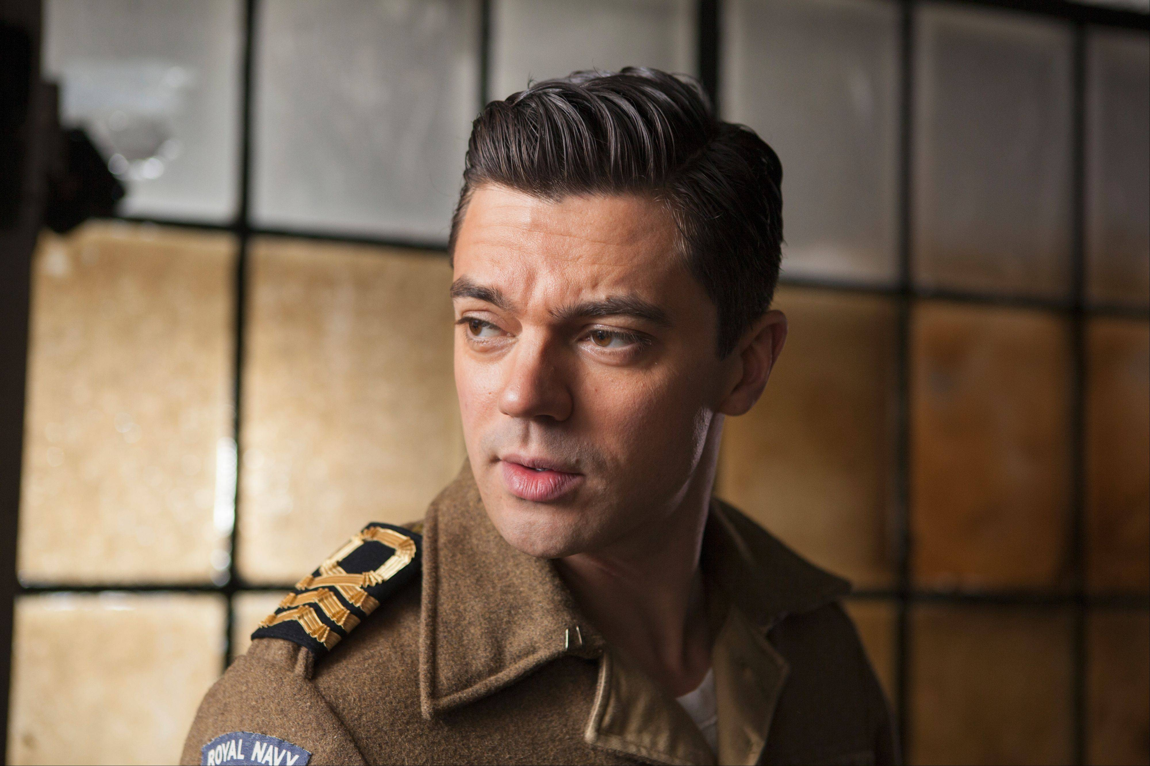 "Dominic Cooper plays James Bond's creator in BBC America's ""Fleming: The Man Who Would Be Bond."" Ian Fleming's own life included being a World War II naval intelligence officer."