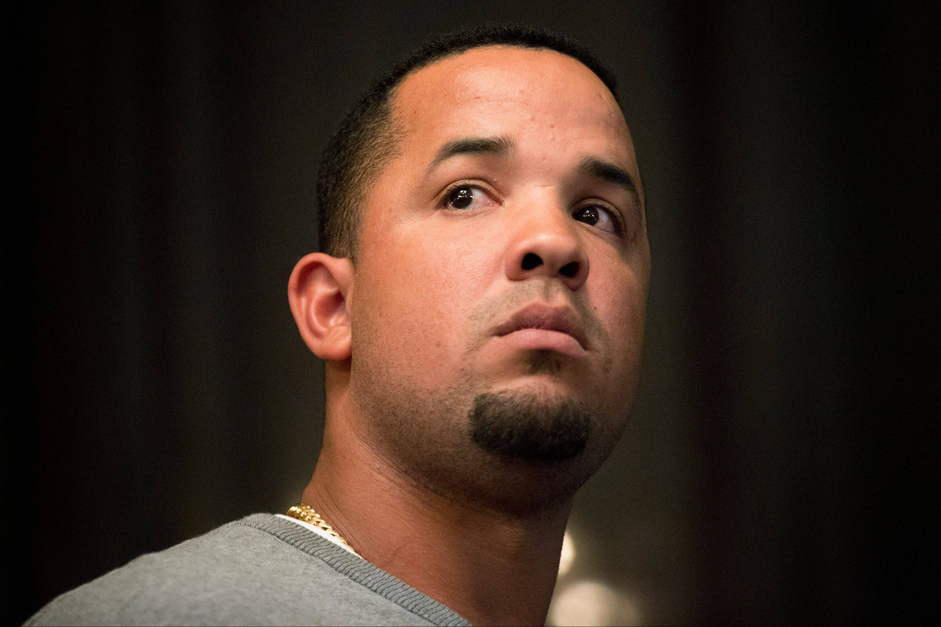 Jose Abreu, one of the White Sox' promising young stars, attended SoxFest over the weekend.