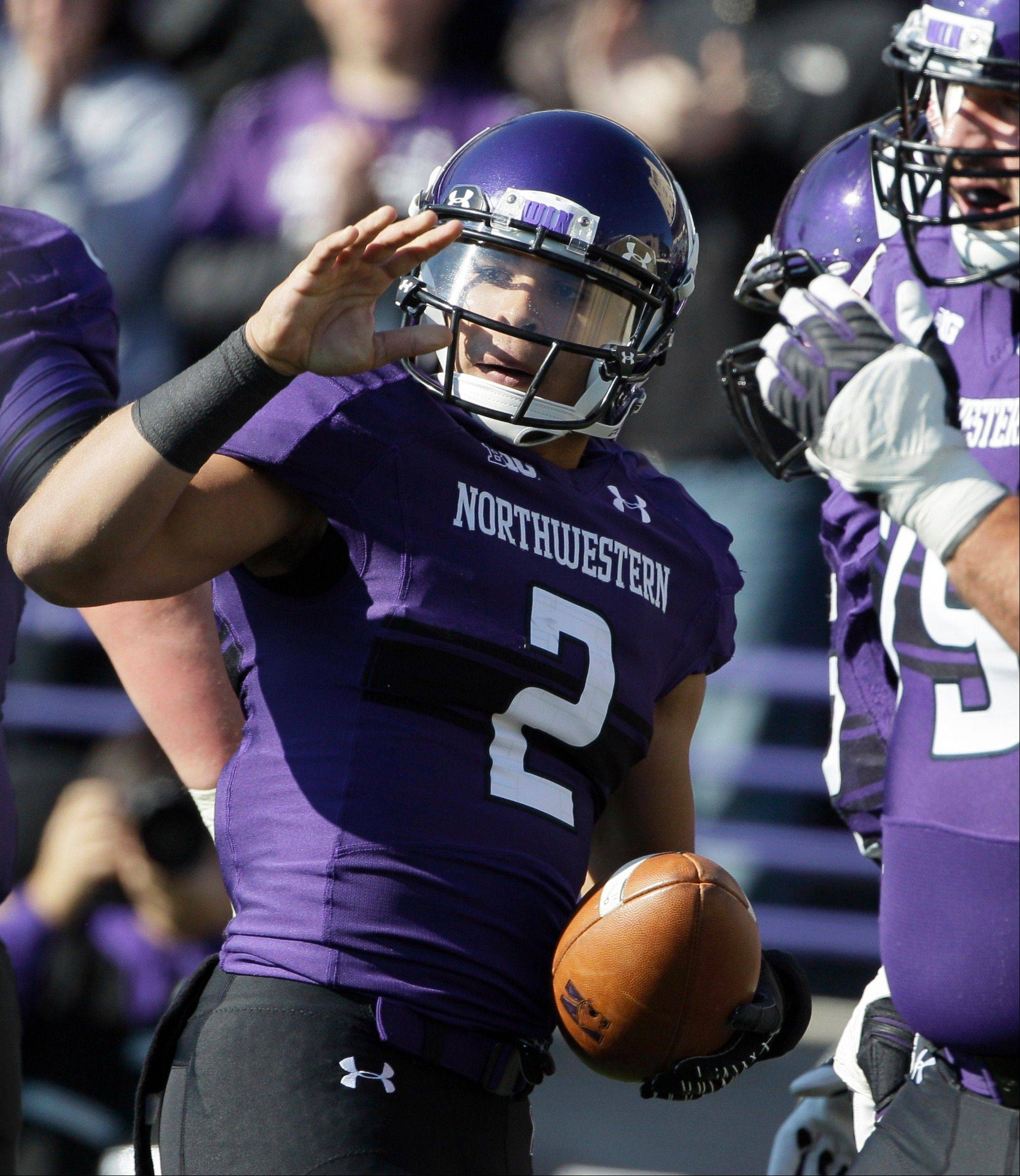Northwestern quarterback Kain Colter is a spokesman for a proposed labor union that would like to represent college football players in their dealings with the NCAA.