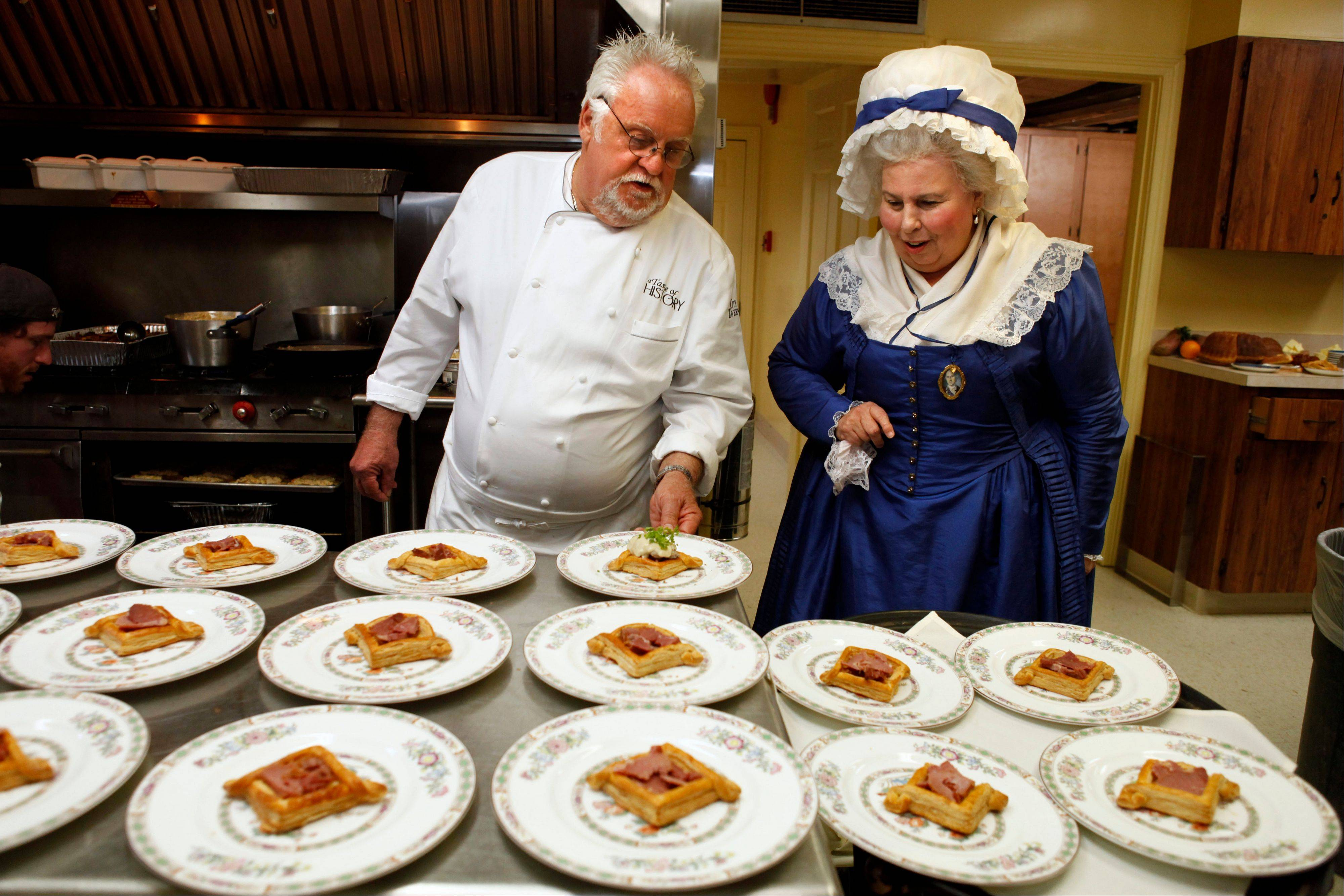 Chef Walter Staib, left, will appear at the Woodstock Opera House on Thursday, March 20.