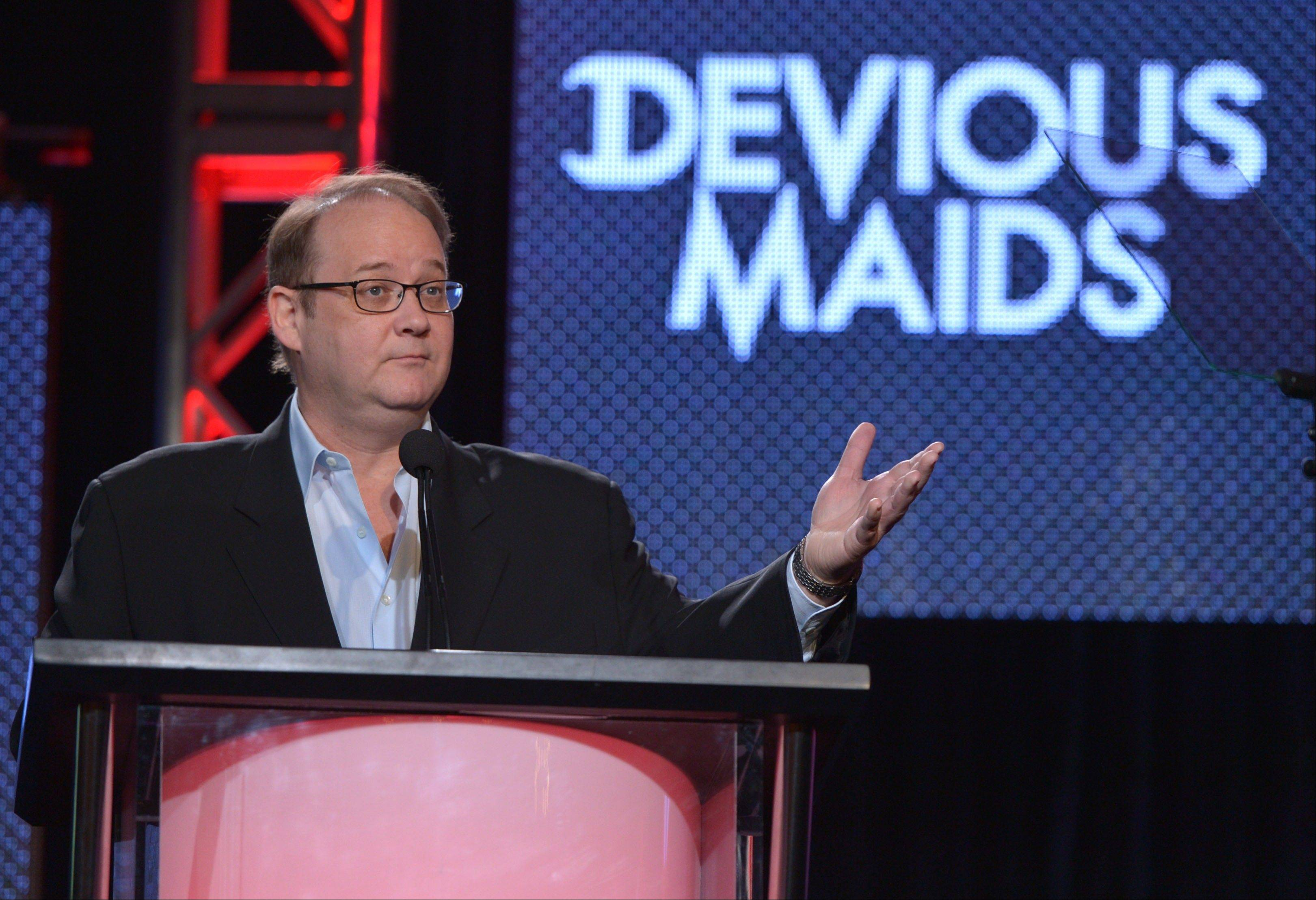 Creator and executive producer Marc Cherry is making programs for cable networks now. Once often content to air reruns, cable networks are busy establishing themselves as creators.