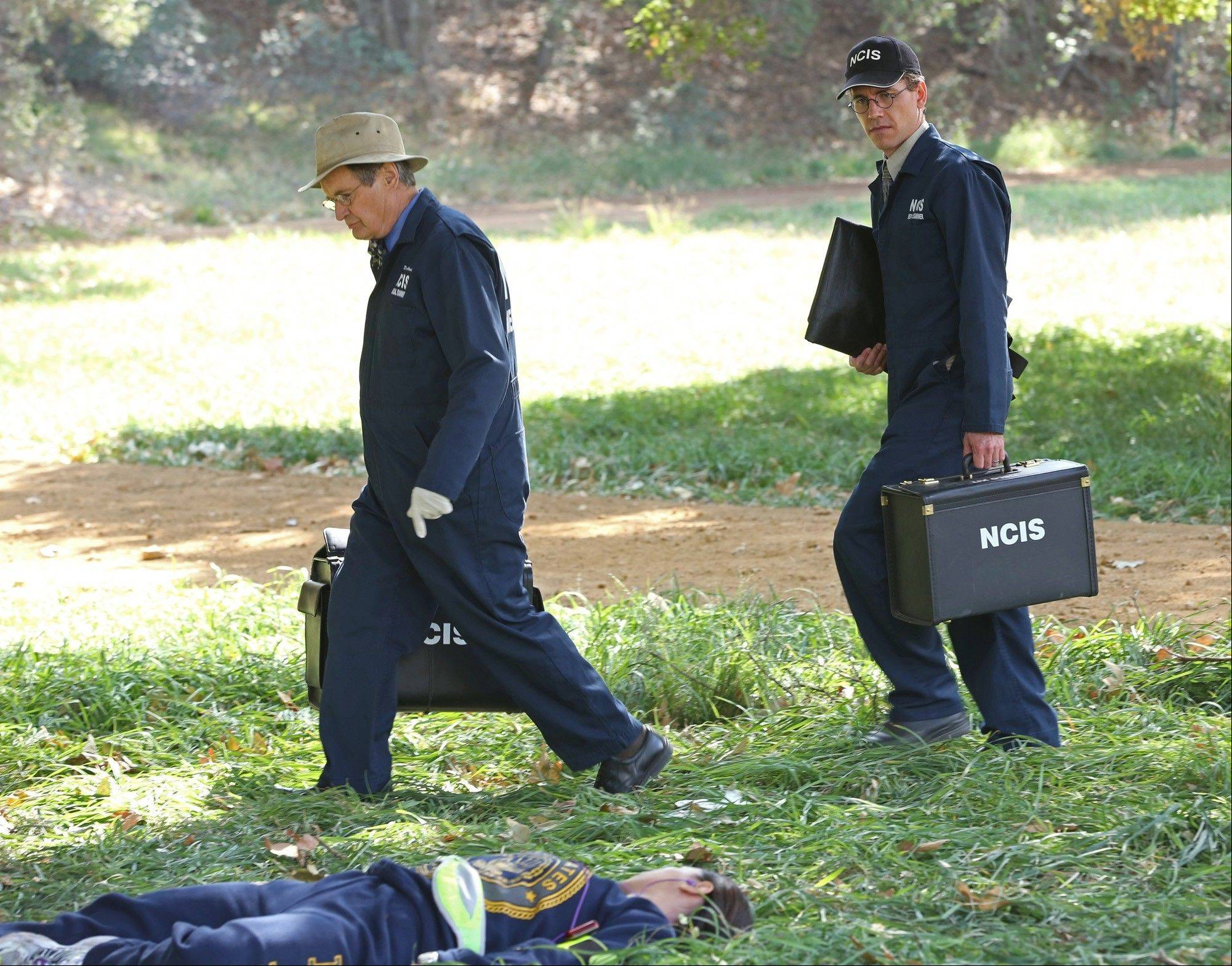"Brian Dietzen, right, plays Jimmy Palmer on ""NCIS."" Palmer assists the medical examiner on the top-rated CBS crime drama."