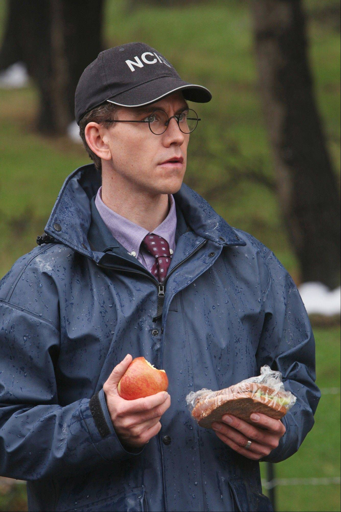 "Barrington native Brian Dietzen does his best to help solve crimes as Jimmy Palmer on CBS' ""NCIS."""