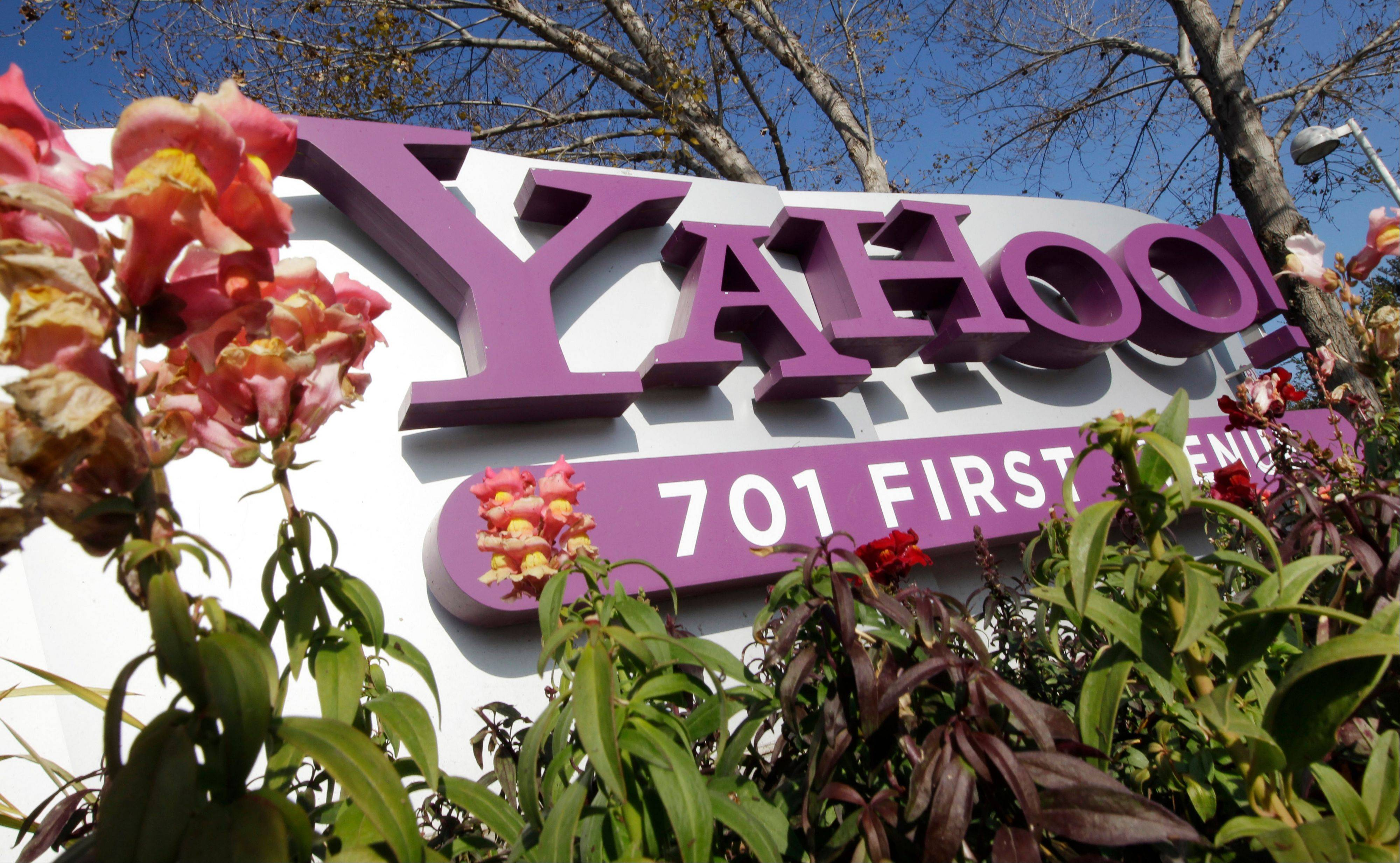 Yahoo CEO Marissa Mayer insists the long-stumbling Internet company has finally regained its stride, even though its revenue is still stuck in reverse.