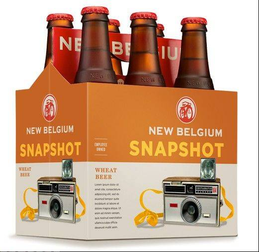 New Belgium Brewing is releasing a new year-round beer just in time for the Super Bowl called Snapshot Wheat, an unfiltered wheat beer with a citrus aroma and a tart finish.