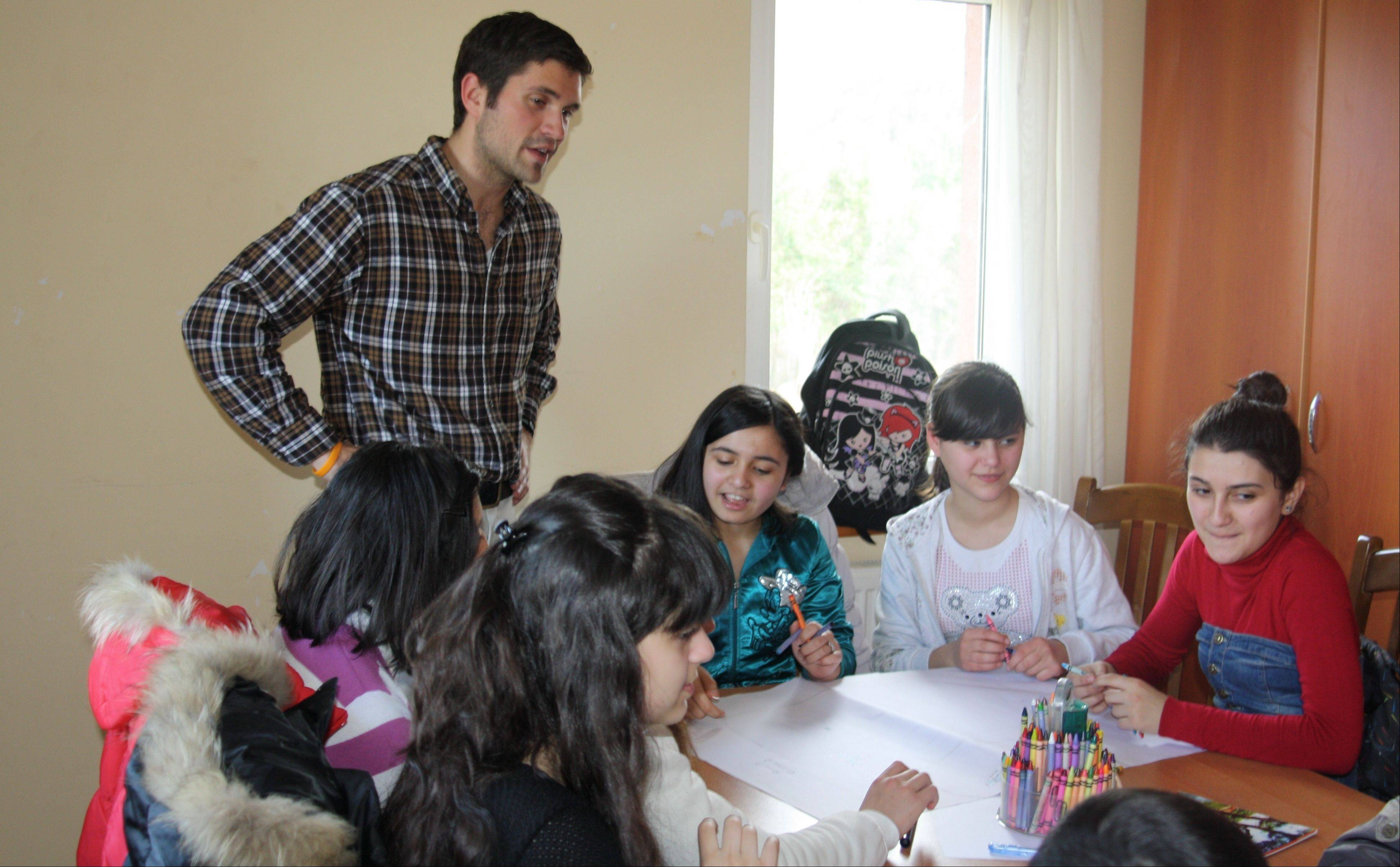 Kevin King of Batavia is serving 27 months as a Peace Corps volunteer in Azerbaijan.