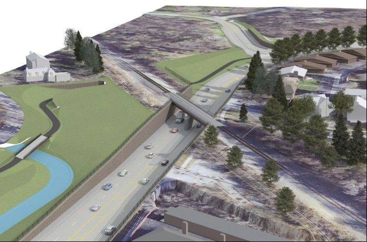 Barrington unveils changes to underpass plan