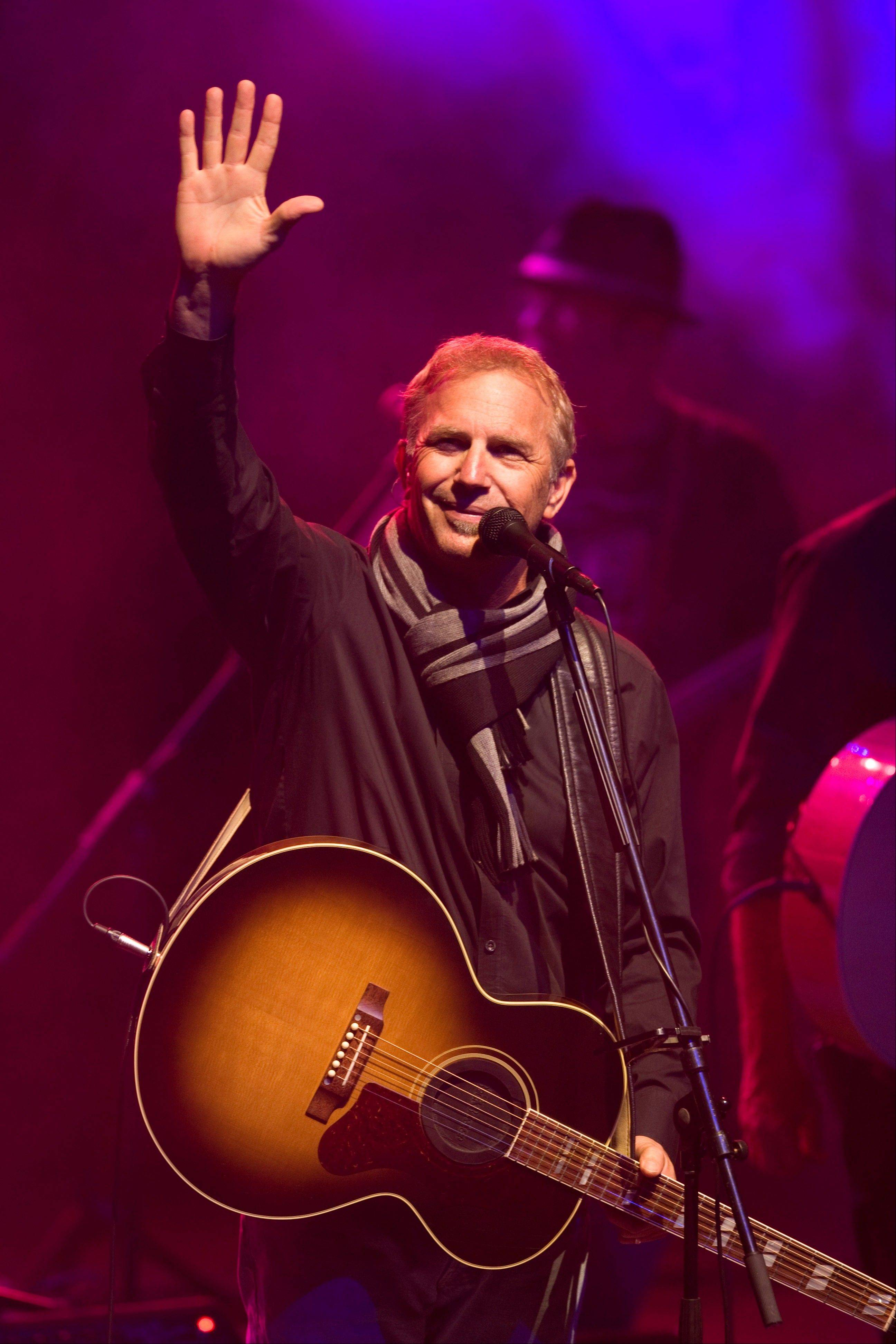 Kevin Costner and his band Modern West will headline at the Arcada Theatre in St. Charles on Monday, April 21.