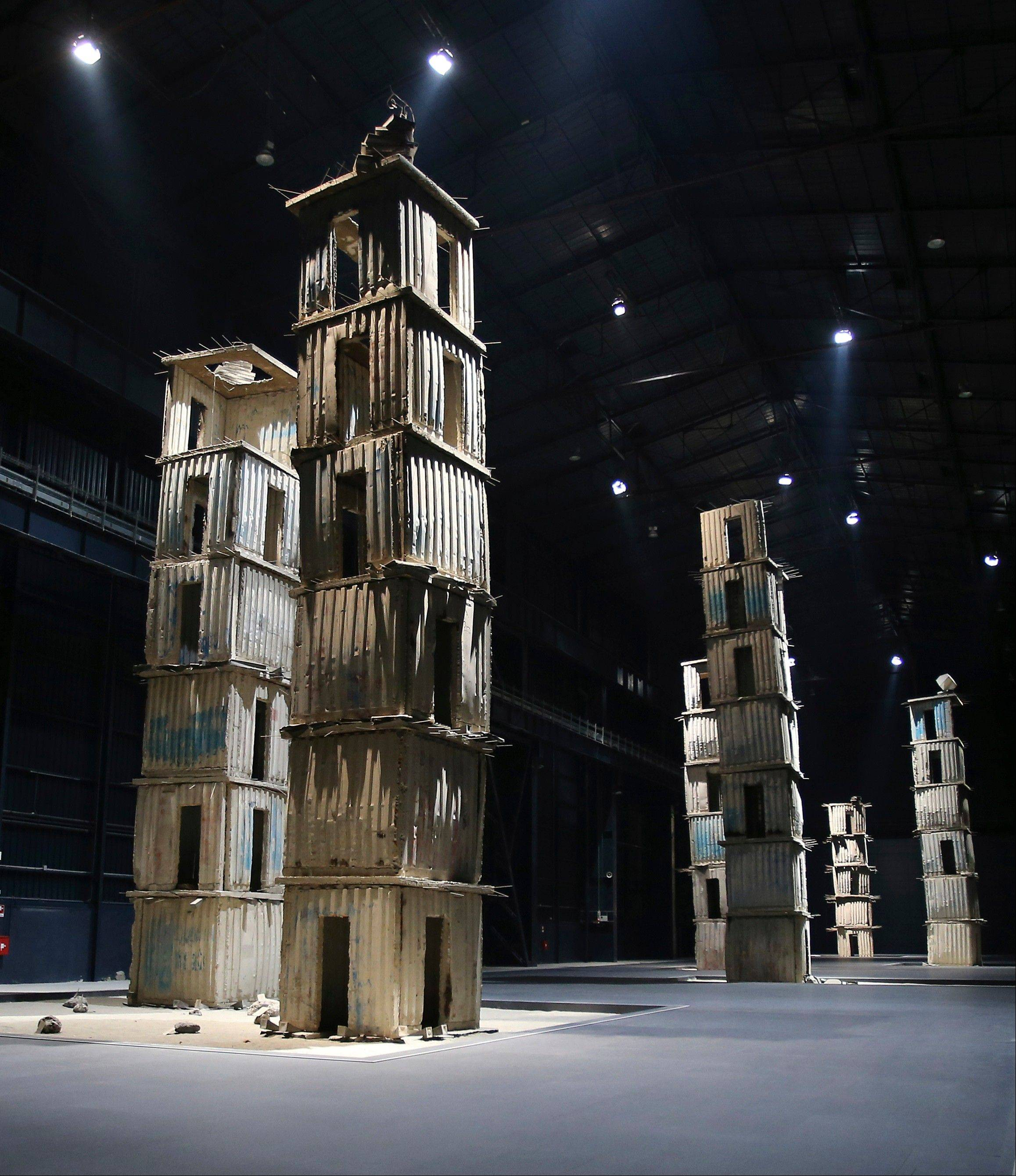 "A permanent installation called ""The Seven Heavenly Palaces"" by German artist Anselm Kiefer can be viewed at the Hangar Bicocca museum in Milan, Italy. Visitors to Italy can feast on Renaissance and Baroque treasures, but there are increasing efforts to promote contemporary art -- including the Hangar Bicocca founded and funded by the Pirelli tire company."