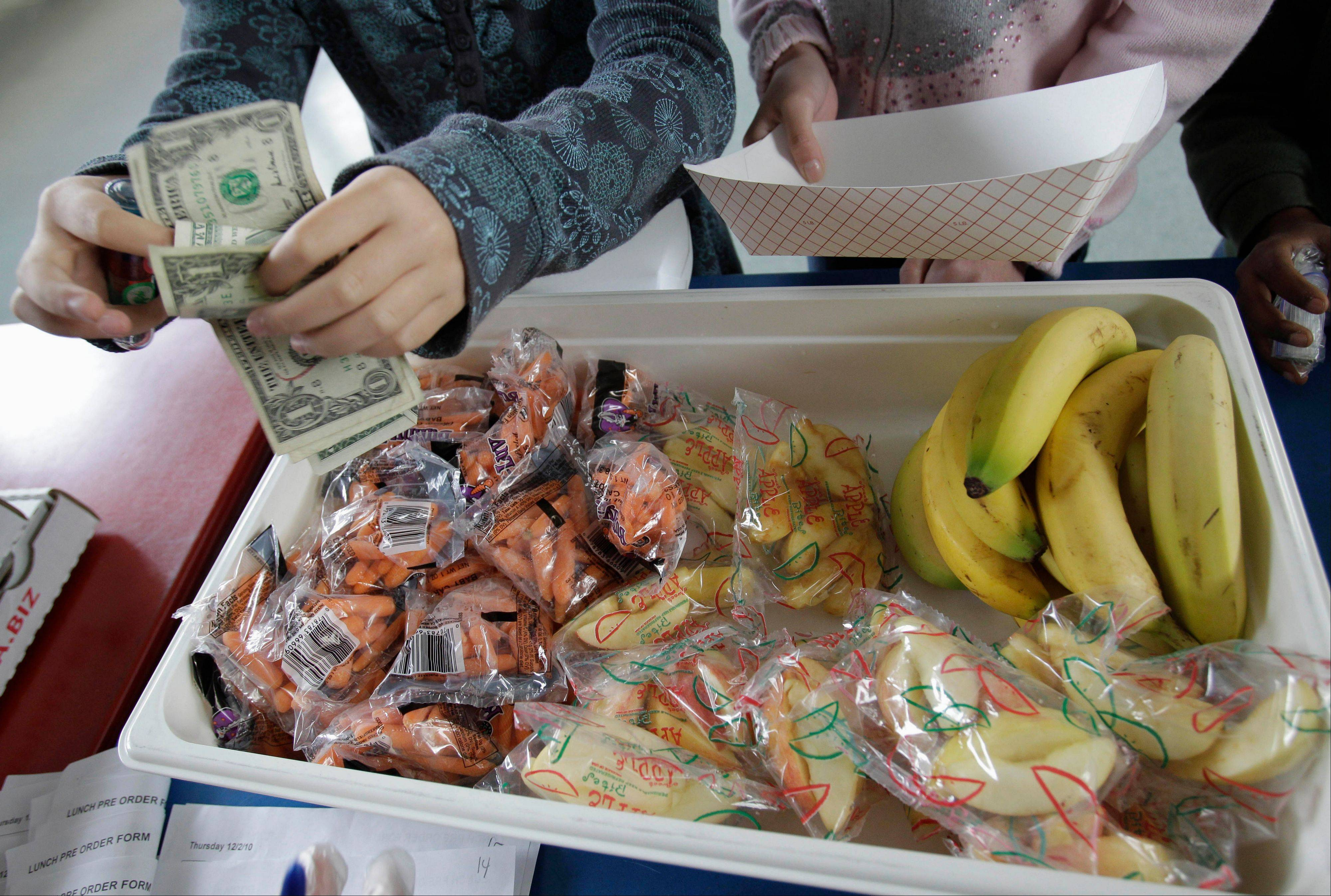 About 30 elementary students in Salt Lake City had their school lunches thrown out because money was owed on their food accounts.