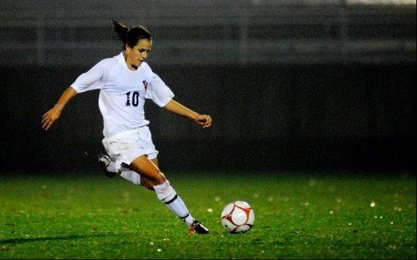 Kayleigh Iatarola, 24, who played soccer at Princeton University, is battling a rare form of renal cancer. The West Dundee native is working to raise awareness about her type of cancer.