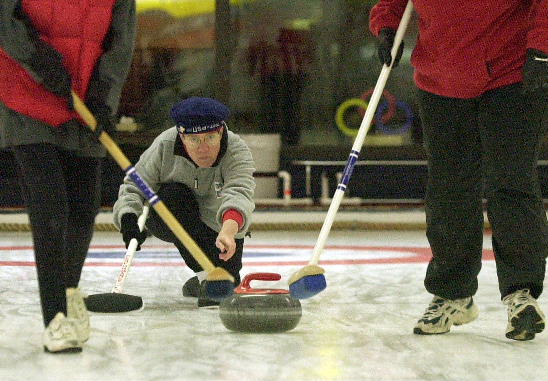 The Chicago Curling Club offers introductory classes for those wanting to learn the Olympic sport.
