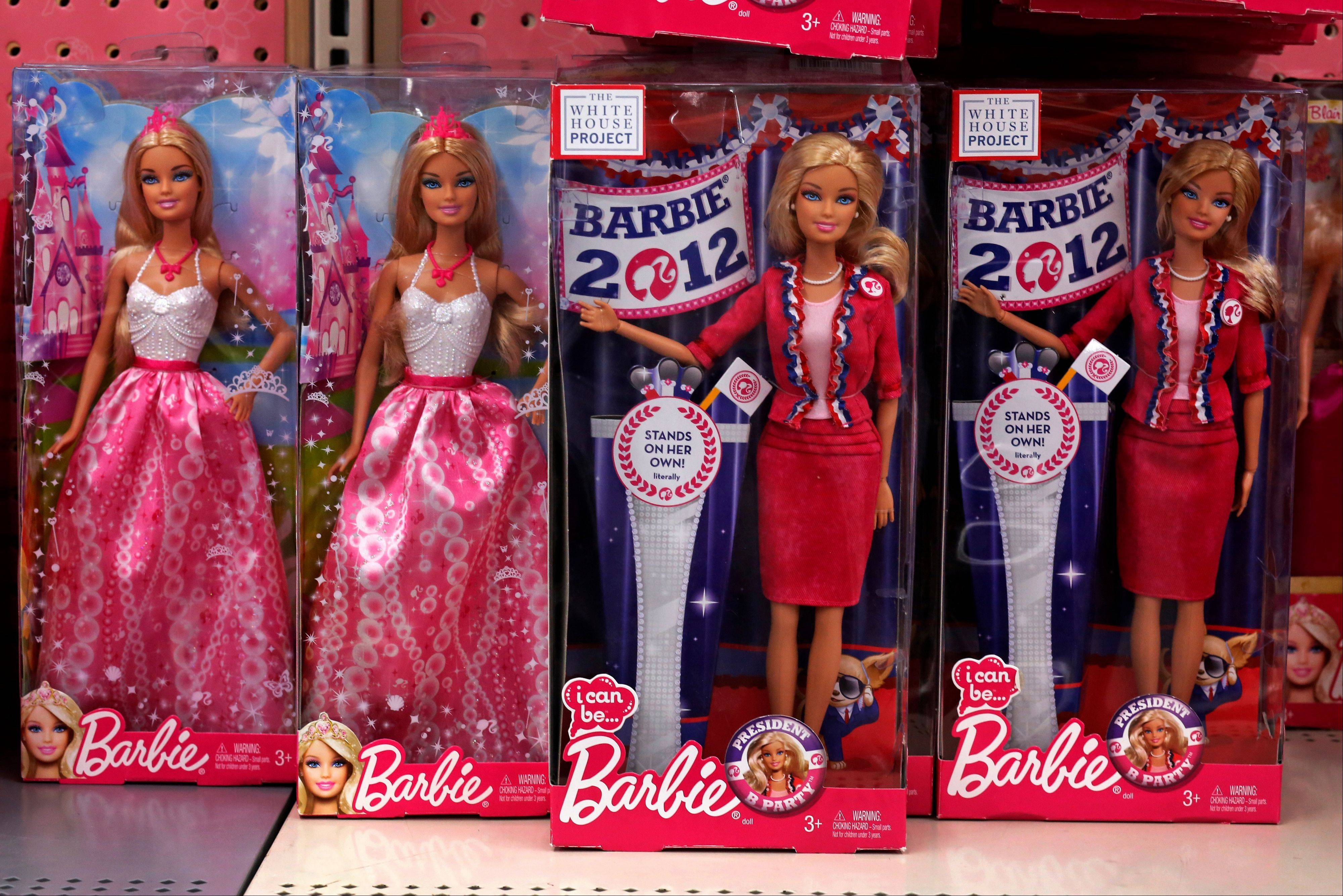 Mattel says it was a tough time in toy land this past holiday season. Barbie and Fisher-Price sales both declined 13 percent. Sales for Hot Wheels fell 8 percent.