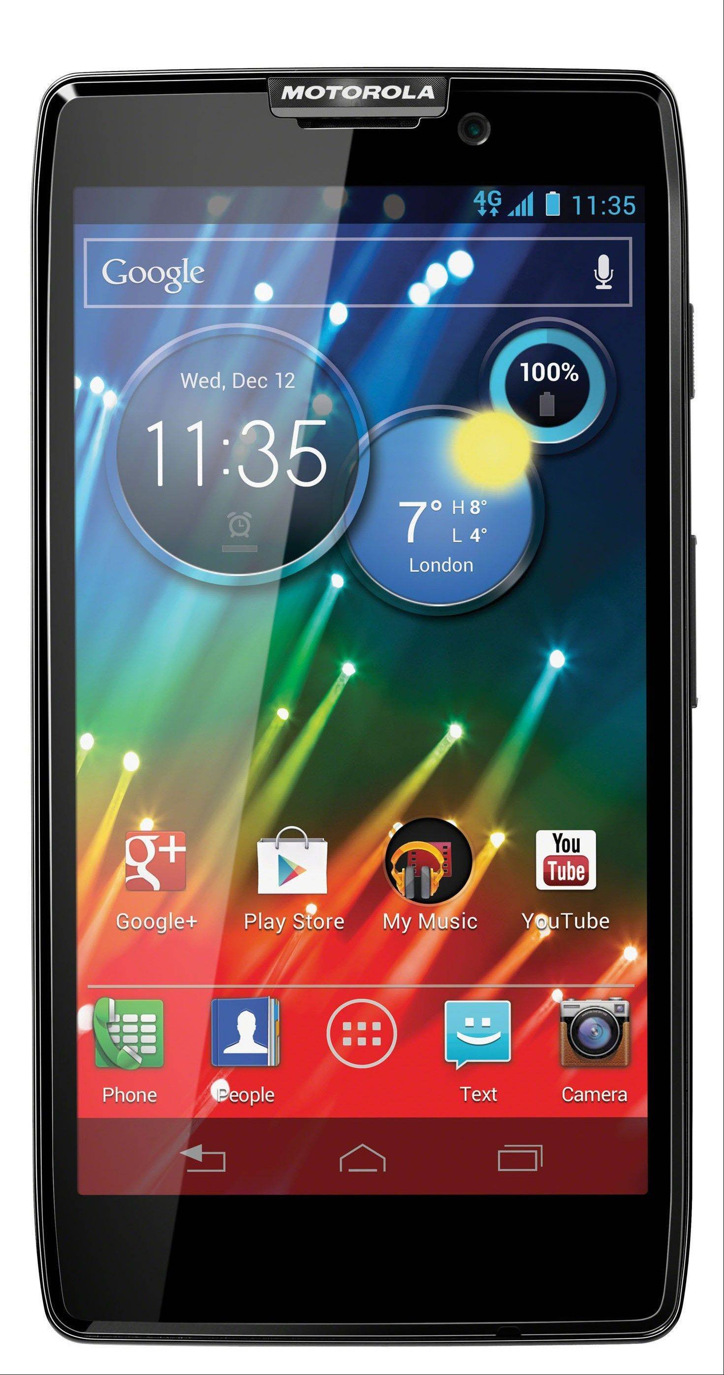 Motorola RAZR HD is one of the many products sold by Motorola Mobility.