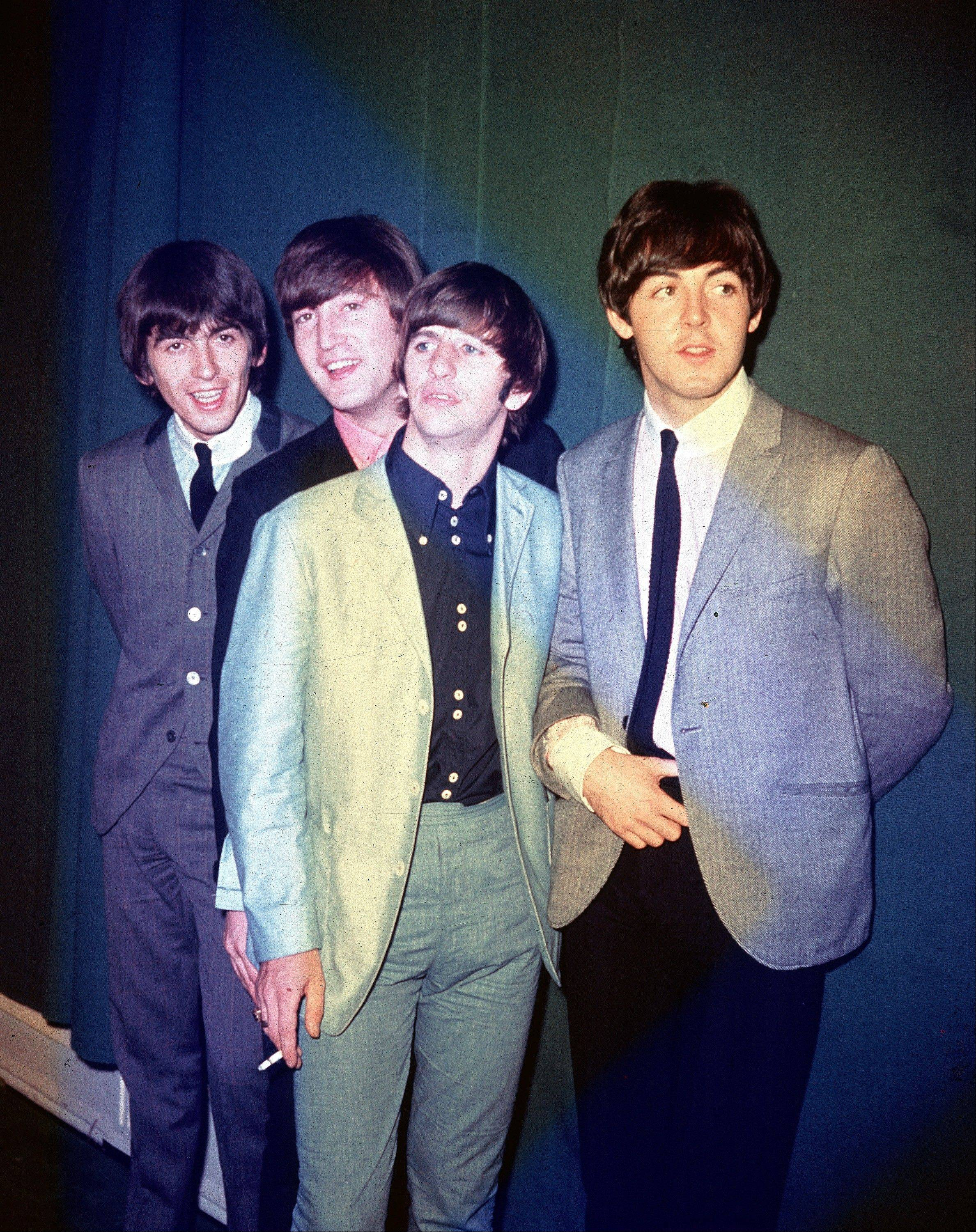 The Beatles -- George Harrison, left, John Lennon, Ringo Starr and Paul McCartney -- took America by storm in 1964.