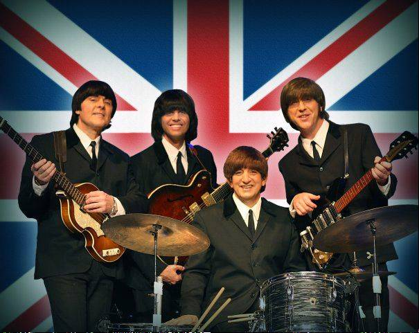 "Beatles tribute band Liverpool Legends will appear with Louise Harrison at the Arcada Theatre in St. Charles on Feb. 9 to mark the 50th anniversary of the Beatles' history-making appearance on ""The Ed Sullivan Show."""