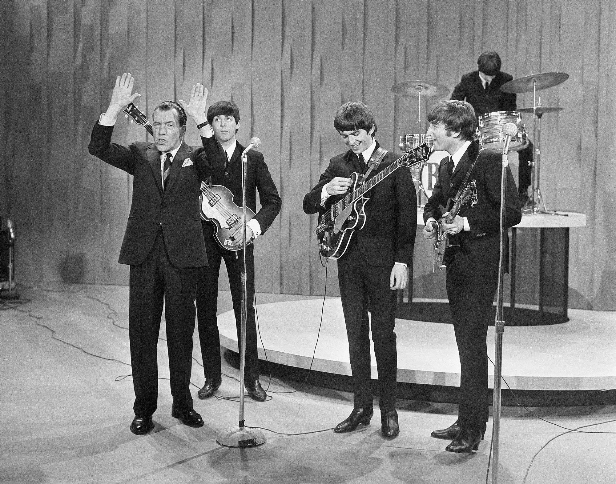 "Local events, as well as a special on CBS, mark the 50th anniversary of the Beatles' Feb. 9, 1964, appearance on ""The Ed Sullivan Show."""