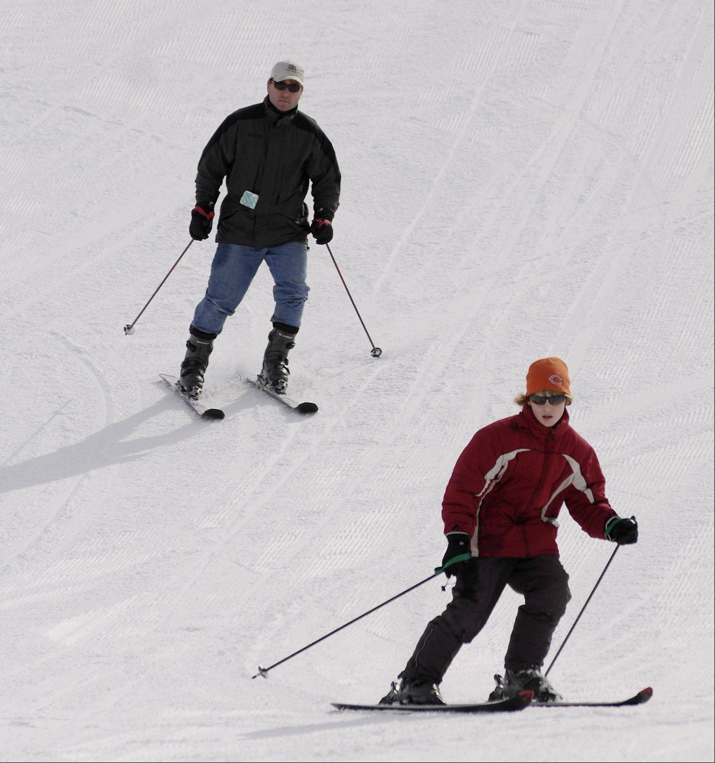 Olympic gold may be out of reach for most of us, but you can give skiing and snowboarding a try at Villa Olivia in Bartlett.