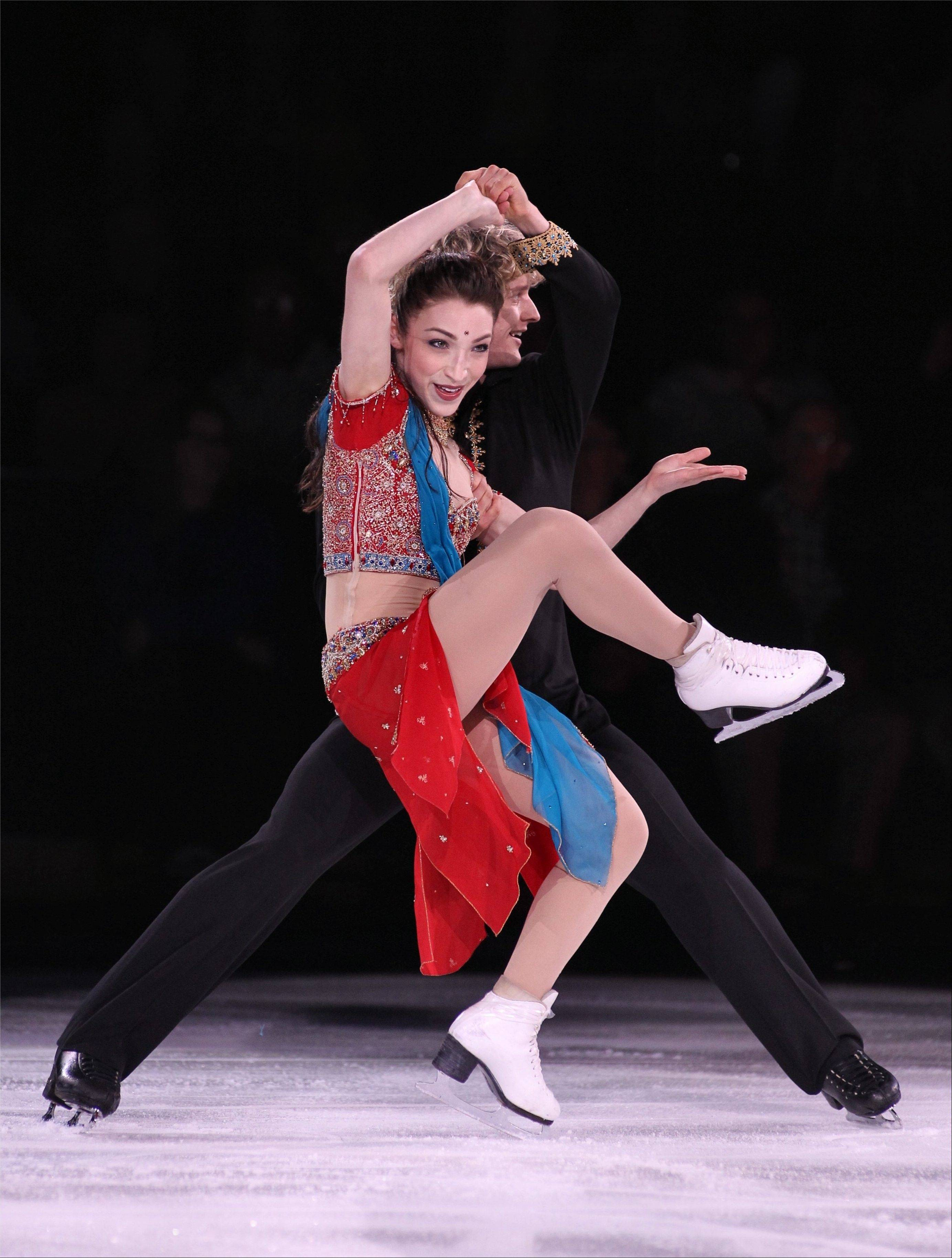 "Ice Dancers Meryl Davis and Charlie White may be among the featured performers in ""Stars on Ice"" coming to the Allstate Arena in Rosemont."