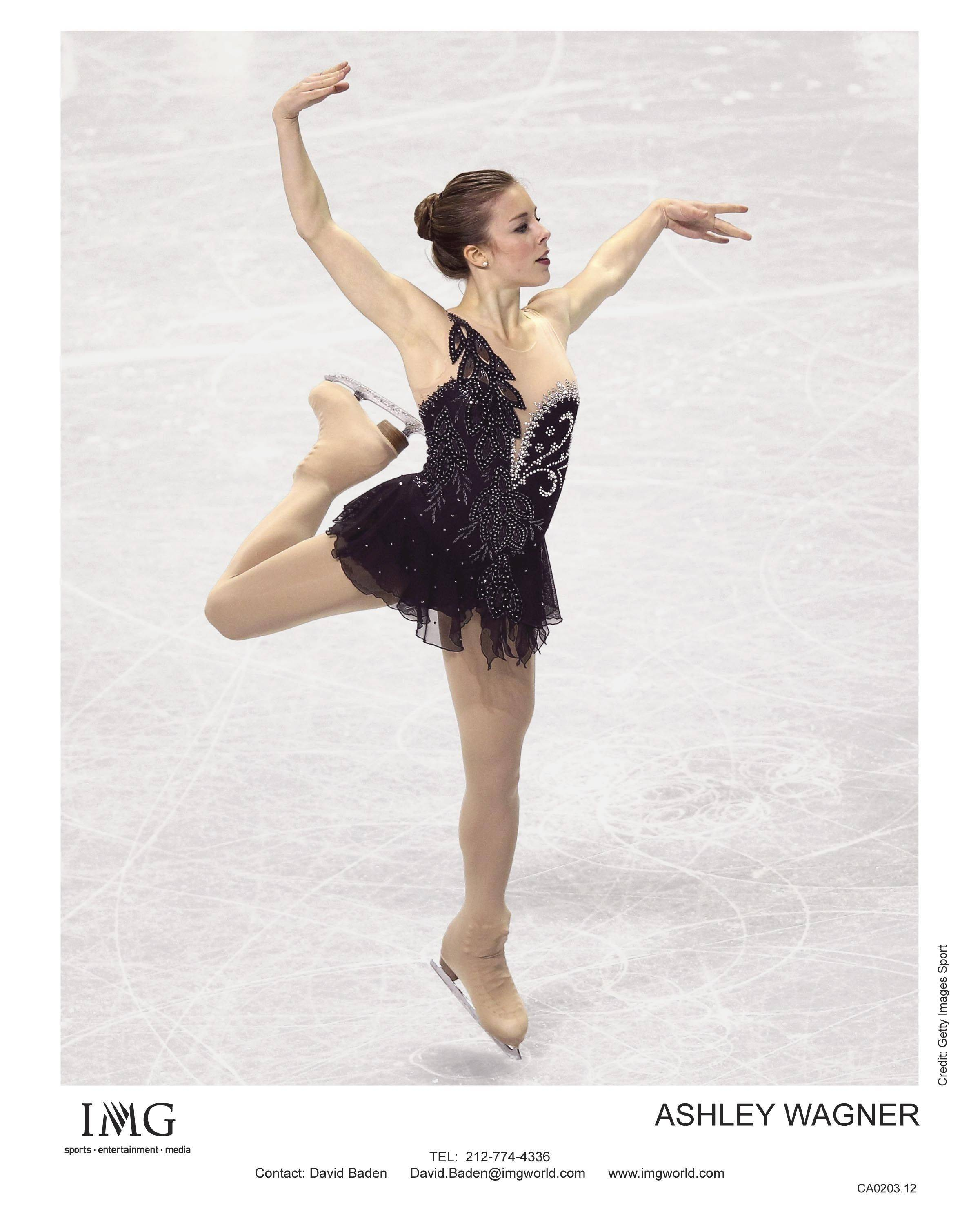 "Ashley Wagner could be one of the headliners in ""Stars on Ice."" The show comes to the Allstate Arena in Rosemont in May."