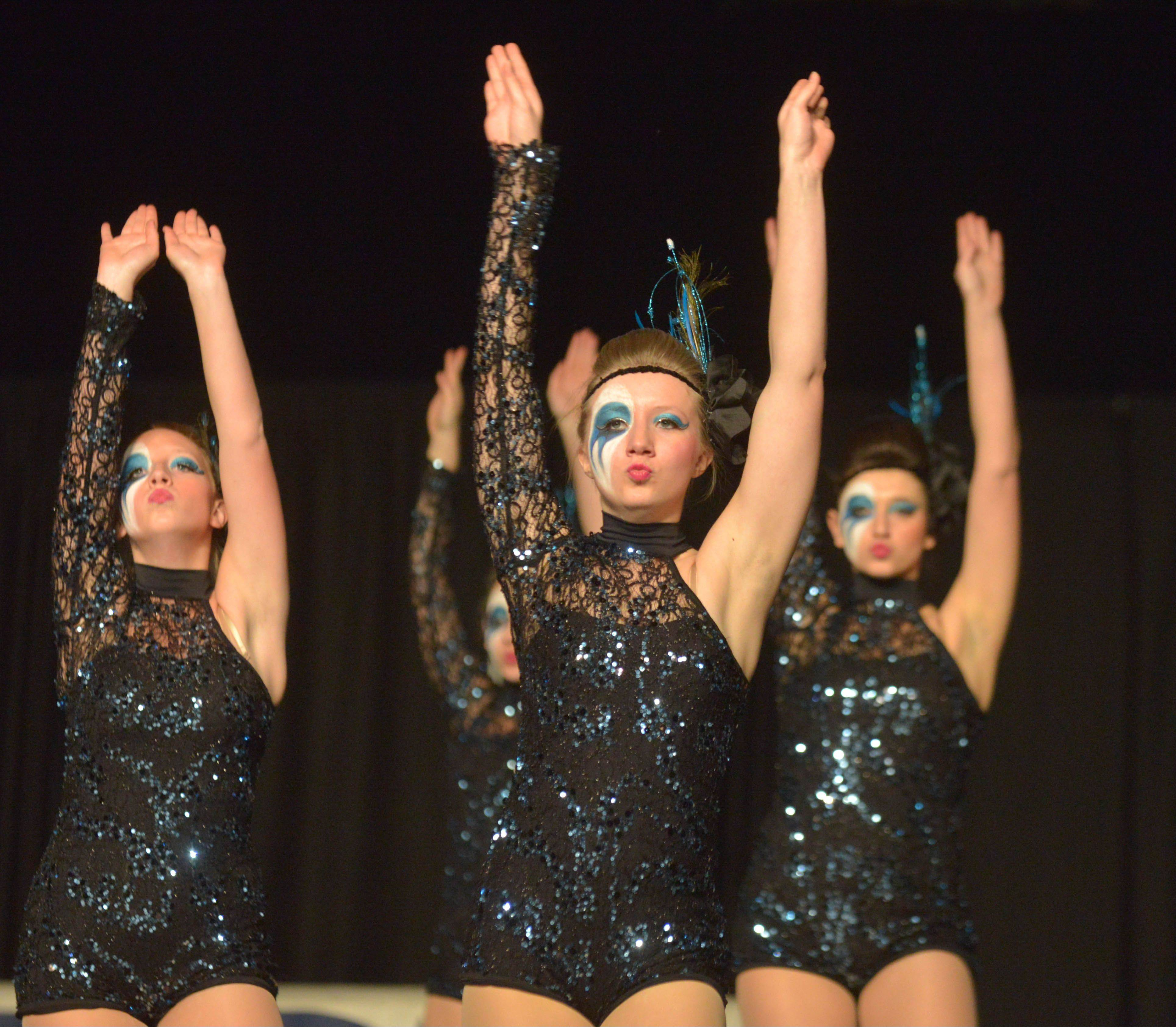 The Lakes Community High School dance team has advanced to Saturday's finals.