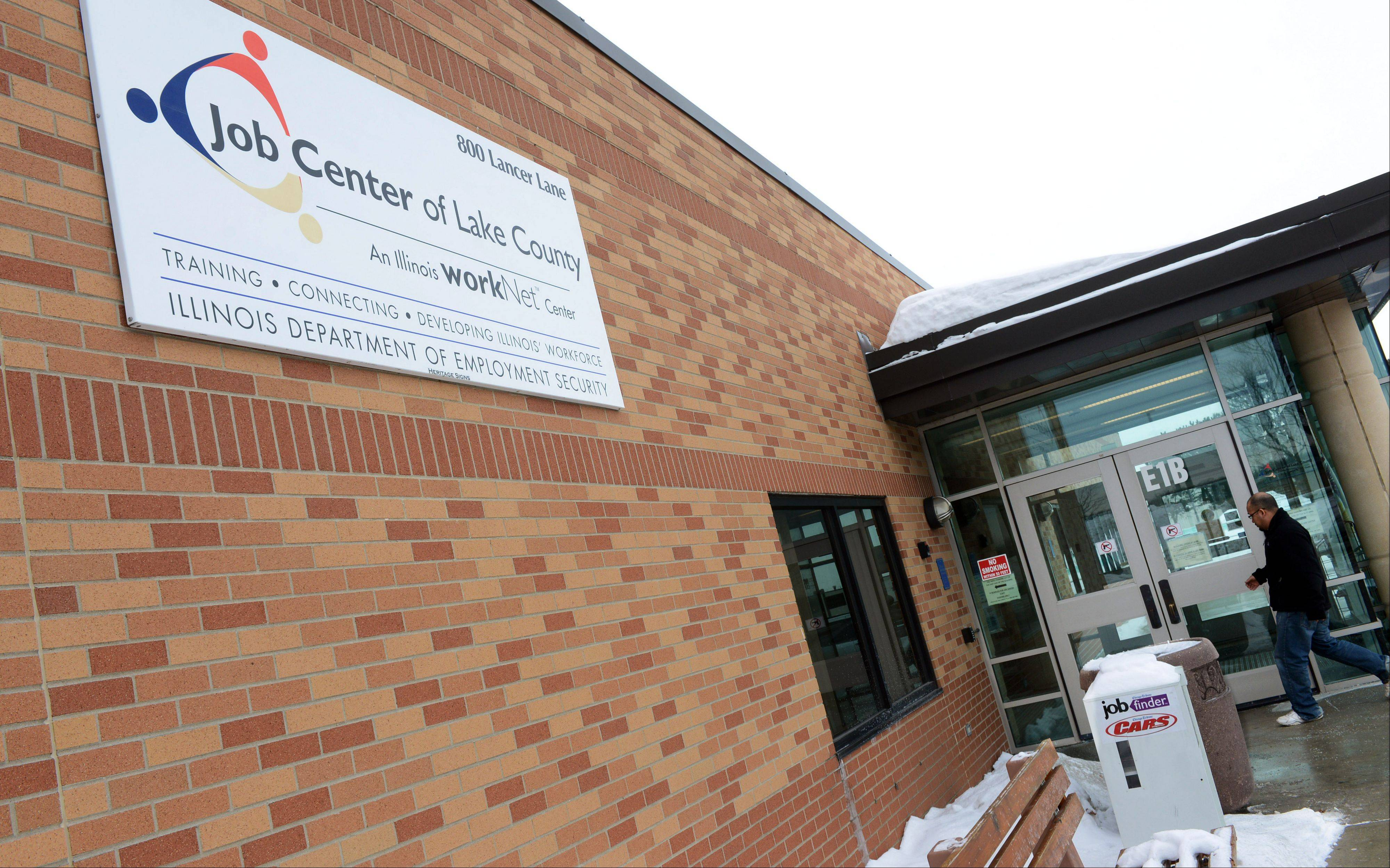 Plans are in the works to close the Illinois Department of Employment Services office on the campus of College of Lake County in Grayslake.