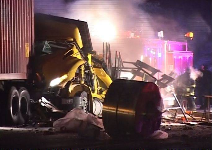 Federal authorities have launched an investigation into a crash that occurred Monday night on I-88 in which a tollway worker was killed and an Illinois state trooper was injured.