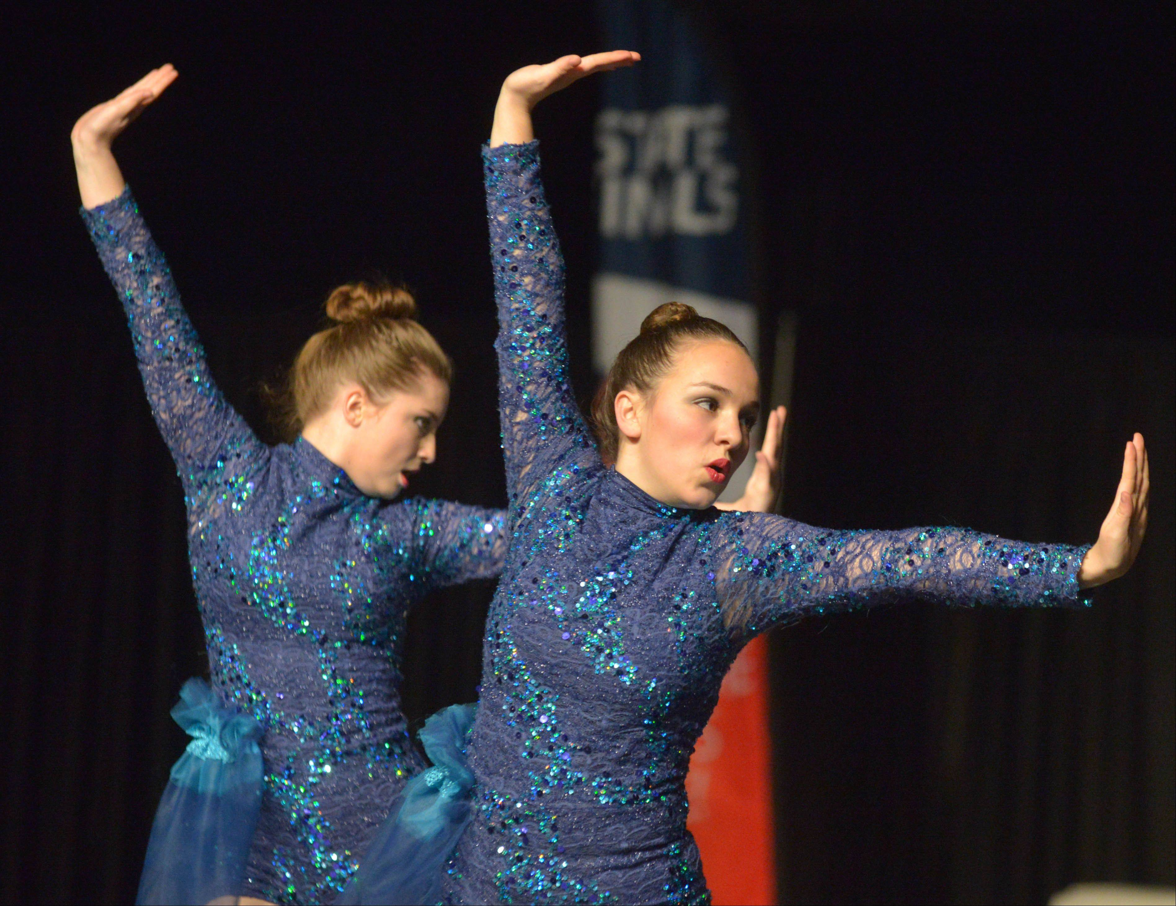Aurora Central Catholic High School took part in the Competitive Dance preliminary round Friday at U.S. Cellular Coliseum in Bloomington.
