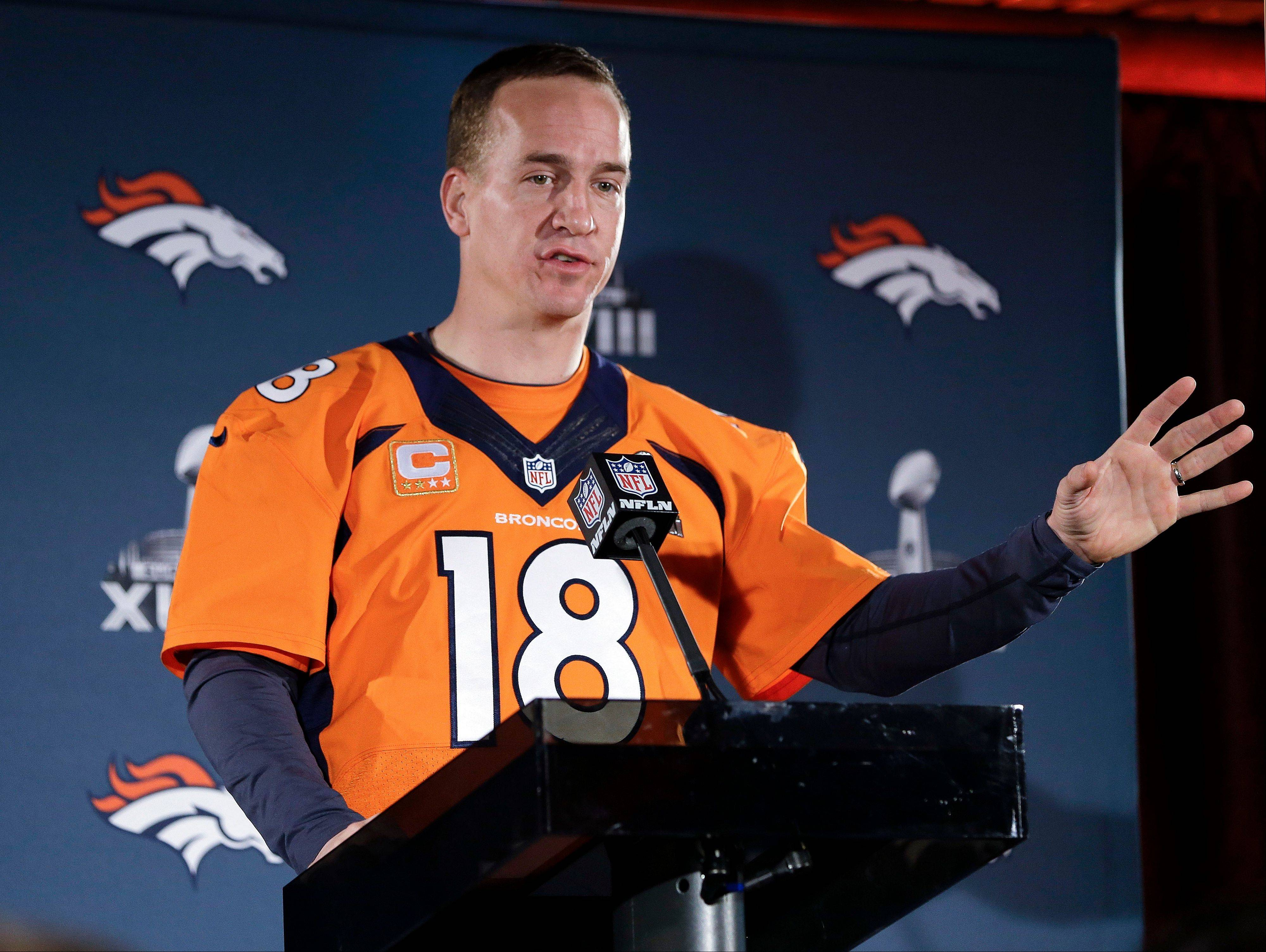 According to Mike Spellman, Denver Broncos quarterback Peyton Manning won't be walking out of MetLife Stadium with a second Super Bowl trophy.