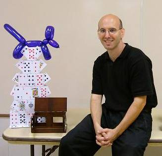 Magician Gary Kantor will lead magic workshops for children who are Schaumburg Township District Library cardholders on Monday, Feb. 17.