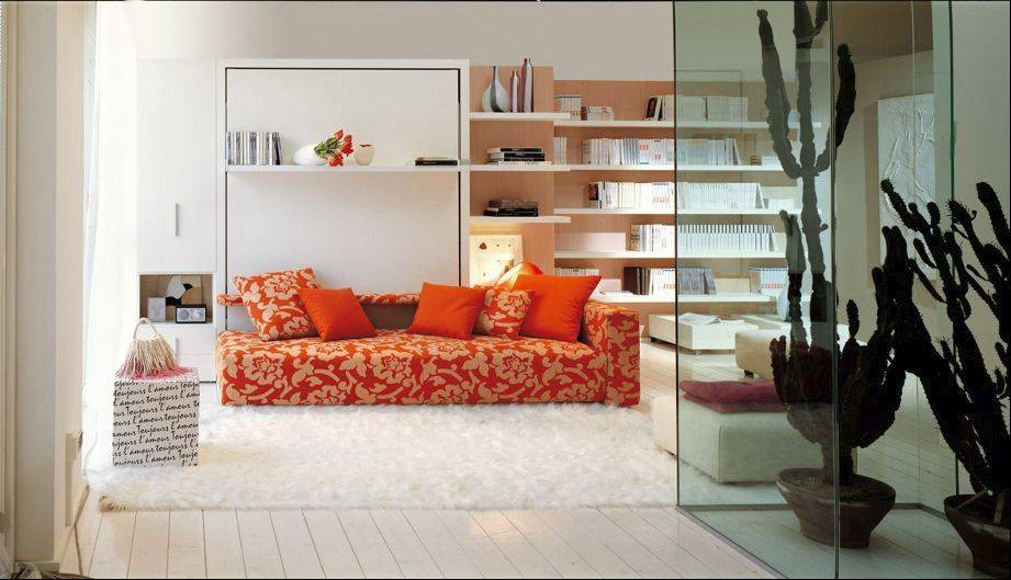 Can the Murphy bed render the concept of a bedroom obsolete?