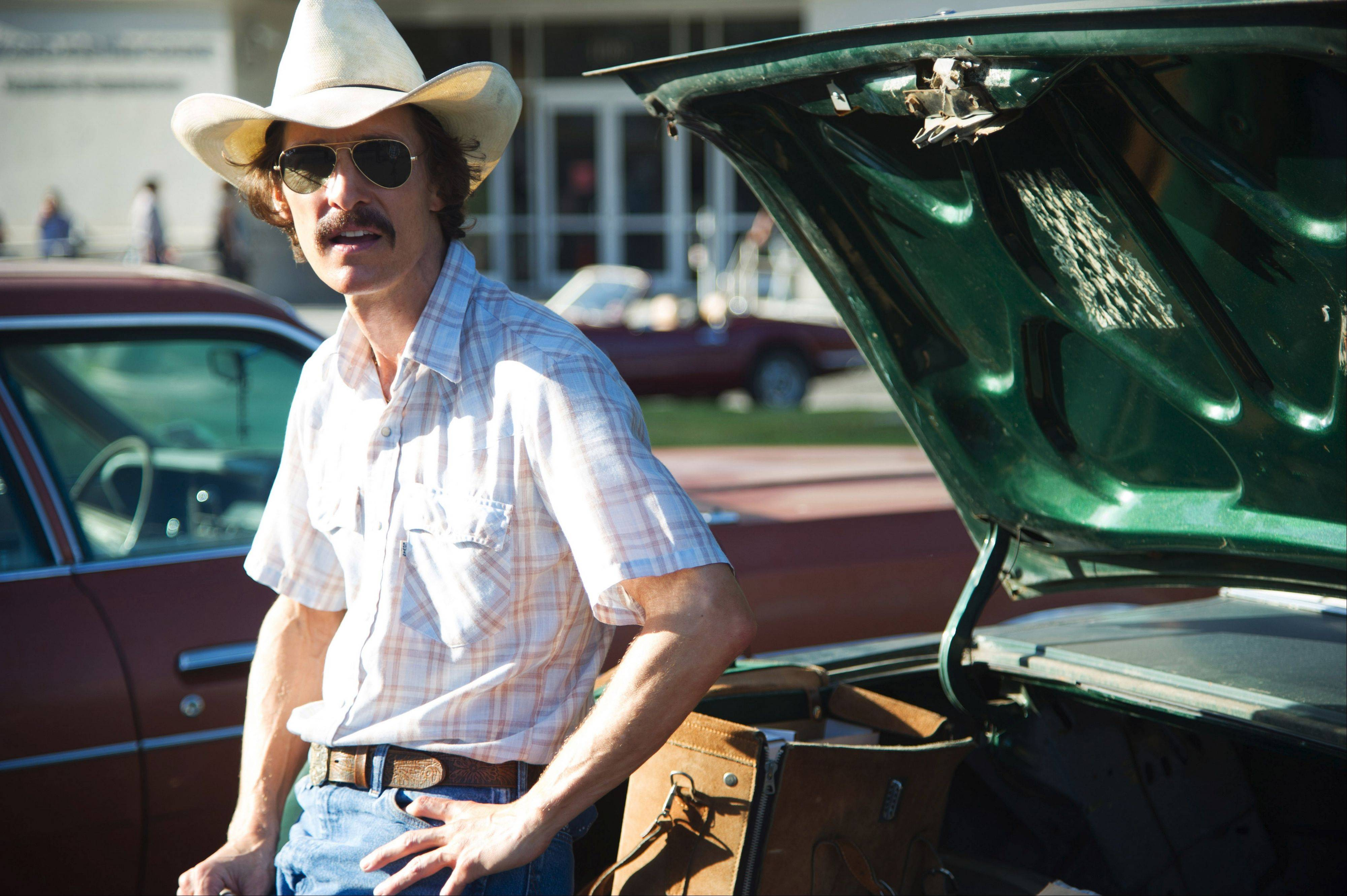 "Ron Woodroof (Matthew McConaughey) seeks out alternative AIDS treatments and forms a club to sell them to other patients in the Oscar-nominated ""Dallas Buyers Club,"" coming to DVD."