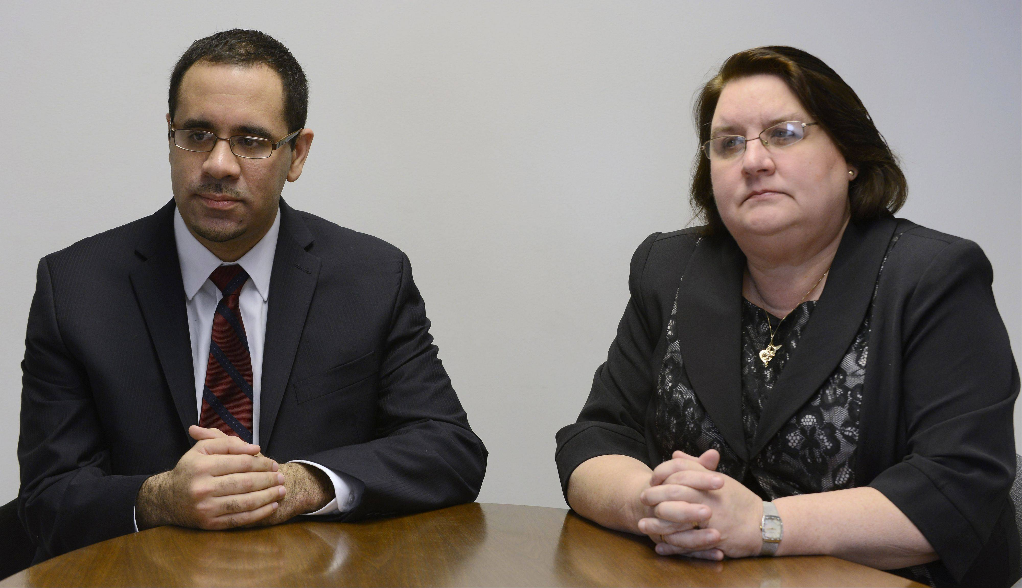 Democratic candidates Antonio Favela and Kathleen Willis are seeking their party's endorsement for the 77th House seat in the March 18 primary.