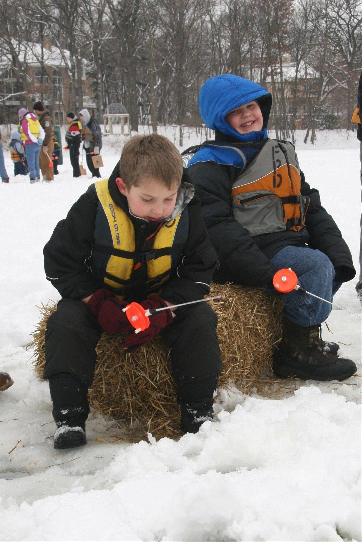 "Trying out snowshoes is one of the wintry activities offered at the ""Wonders of Winter"" open house on Saturday, Feb. 1,at the Mayslake Peabody Estate in Oak Brook."