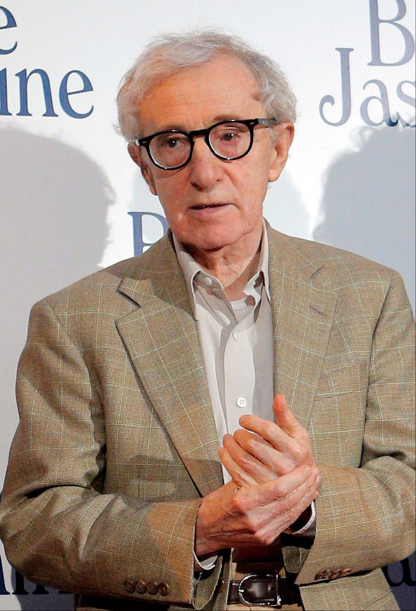 "Director and actor Woody Allen at the French premiere of ""Blue Jasmine,"" in Paris."