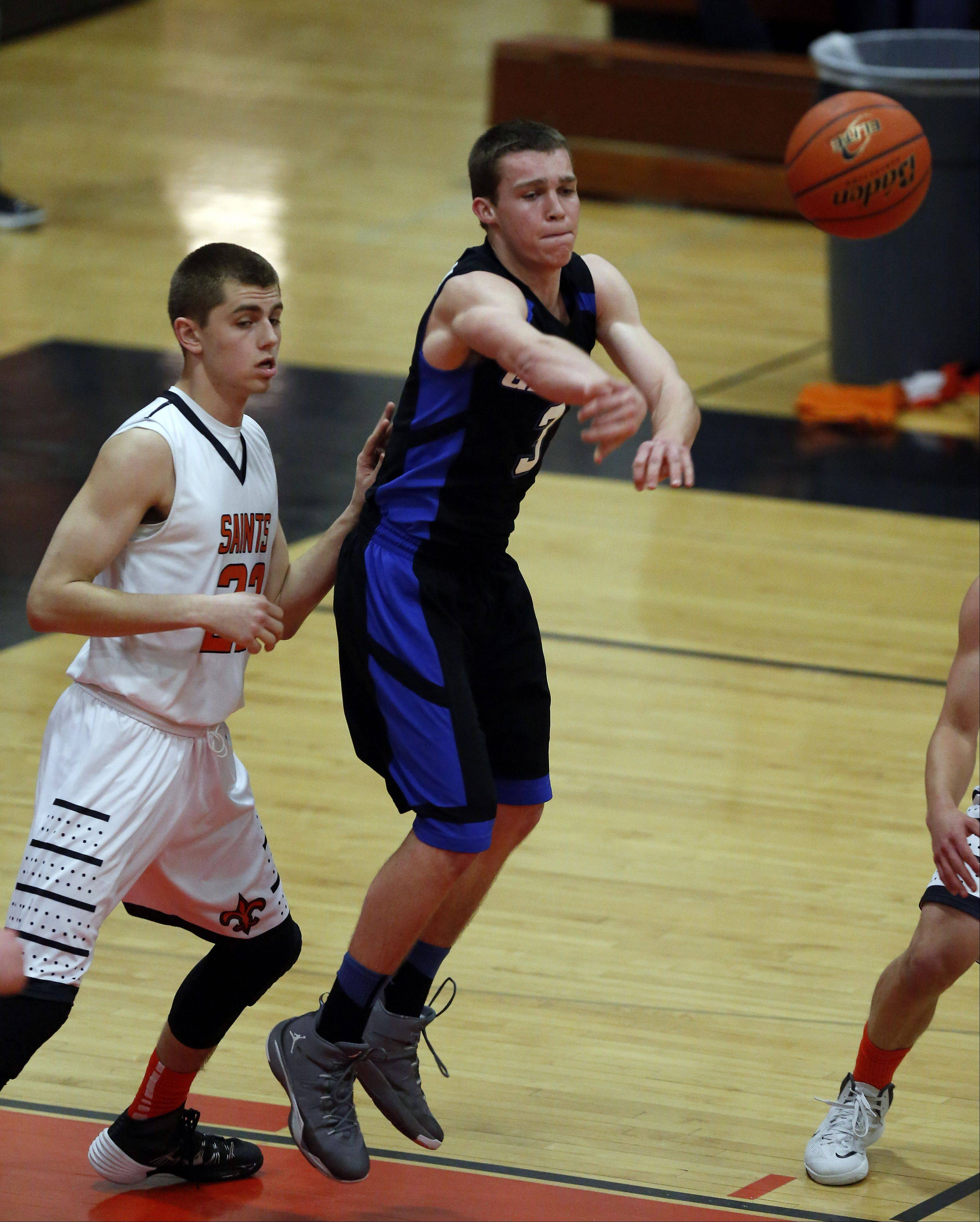 Images from the Geneva vs. St. Charles East boys basketball game Saturday, February 1, 2014 in St. Charles.
