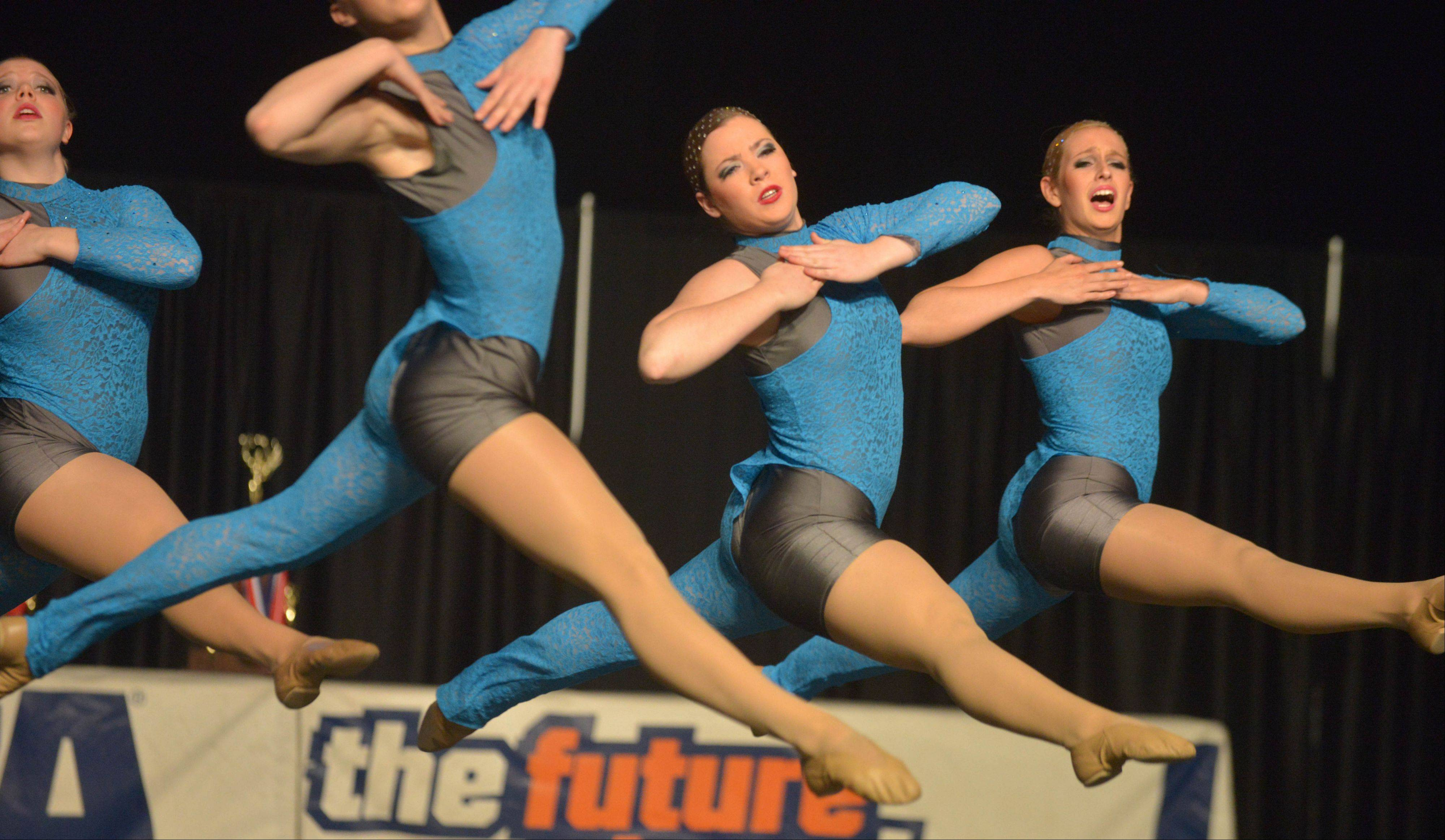 Barrington High School took part in the IHSA Dance State Final at U.S. Cellular Coliseum in Bloomington Saturday. 90 teams vied for state champion at this event.