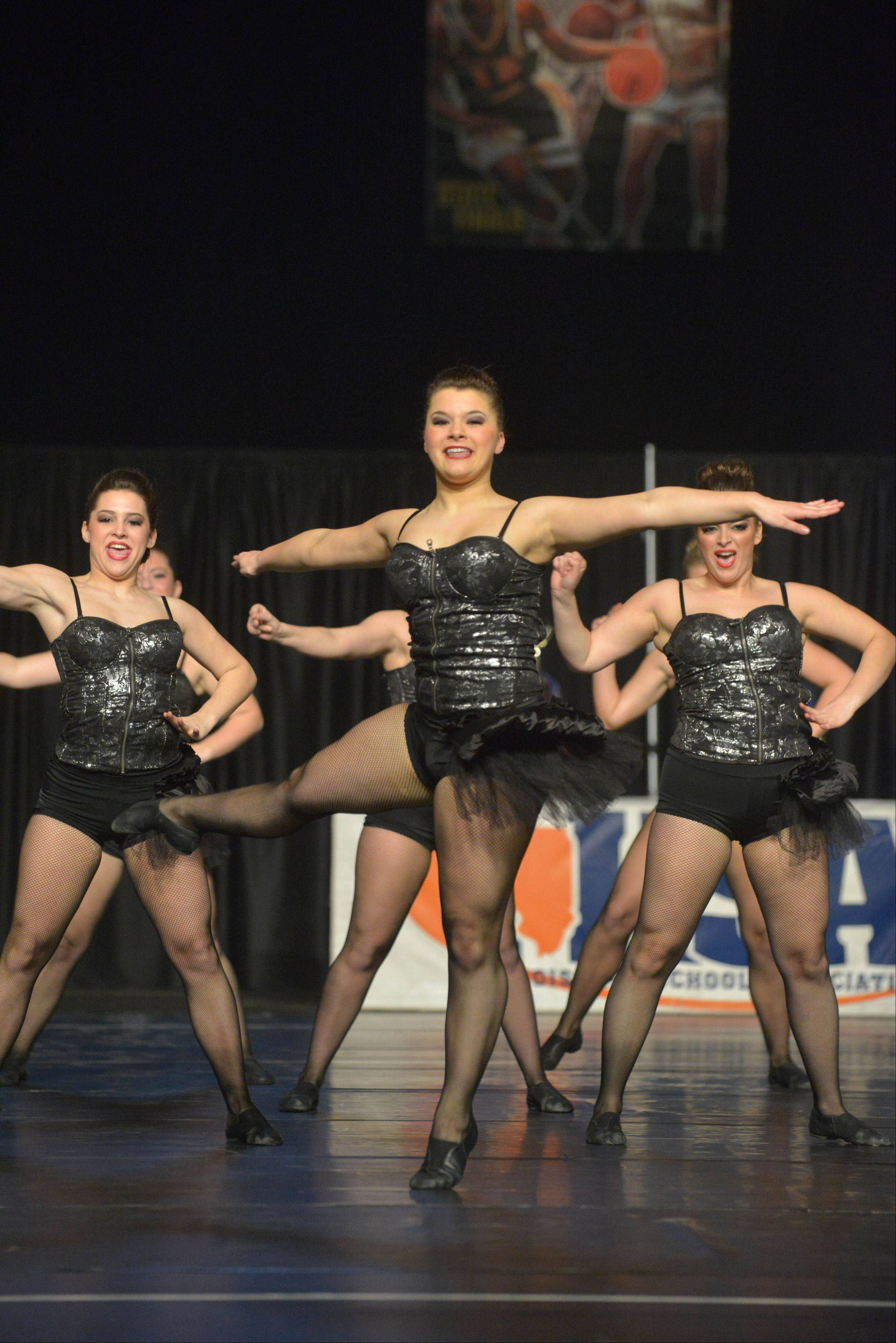 Lake Park High School took part in the IHSA Dance State Final at U.S. Cellular Coliseum in Bloomington Saturday. 90 teams vied for state champion at this event.