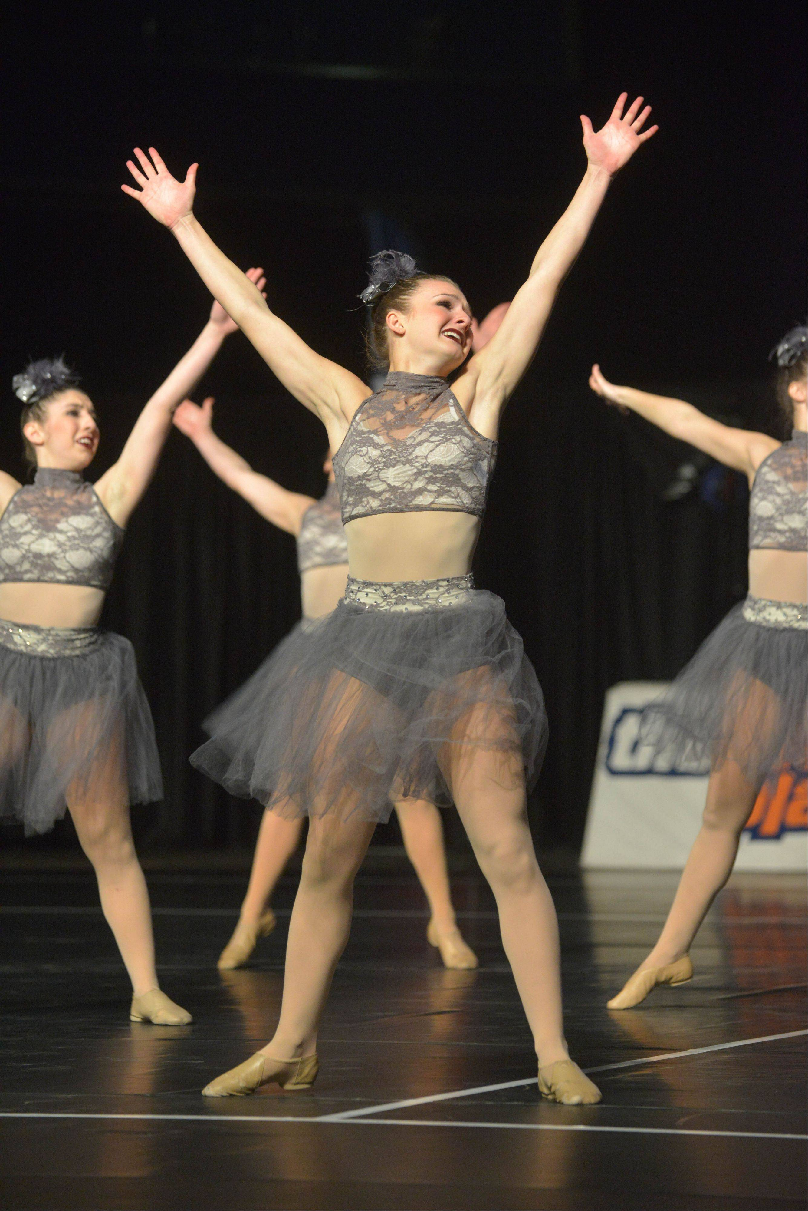 South Elgin High School took part in the IHSA Dance State Final at U.S. Cellular Coliseum in Bloomington Saturday. 90 teams vied for state champion at this event.