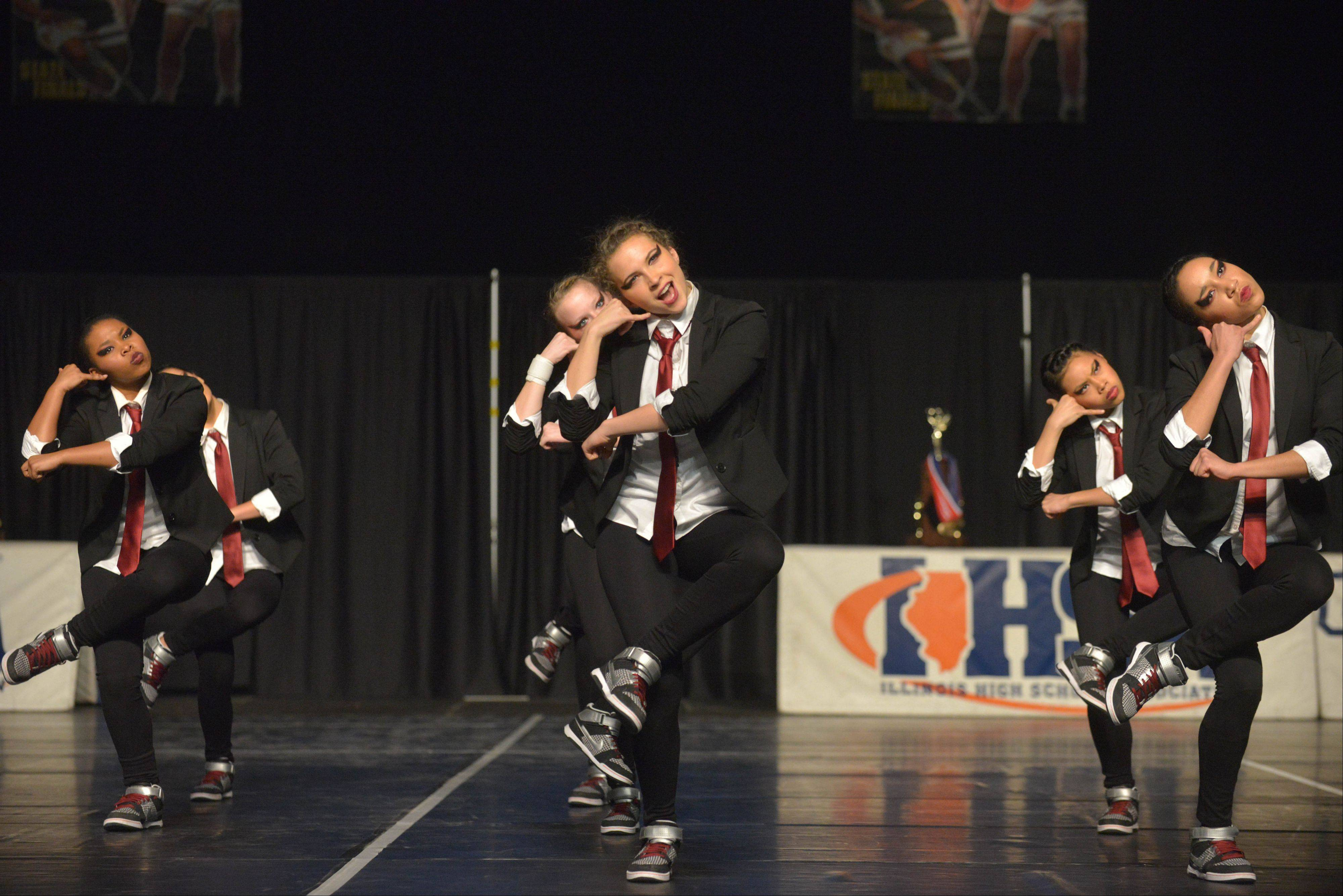 Warren High School took part in the IHSA Dance State Final at U.S. Cellular Coliseum in Bloomington Saturday. 90 teams vied for state champion at this event.