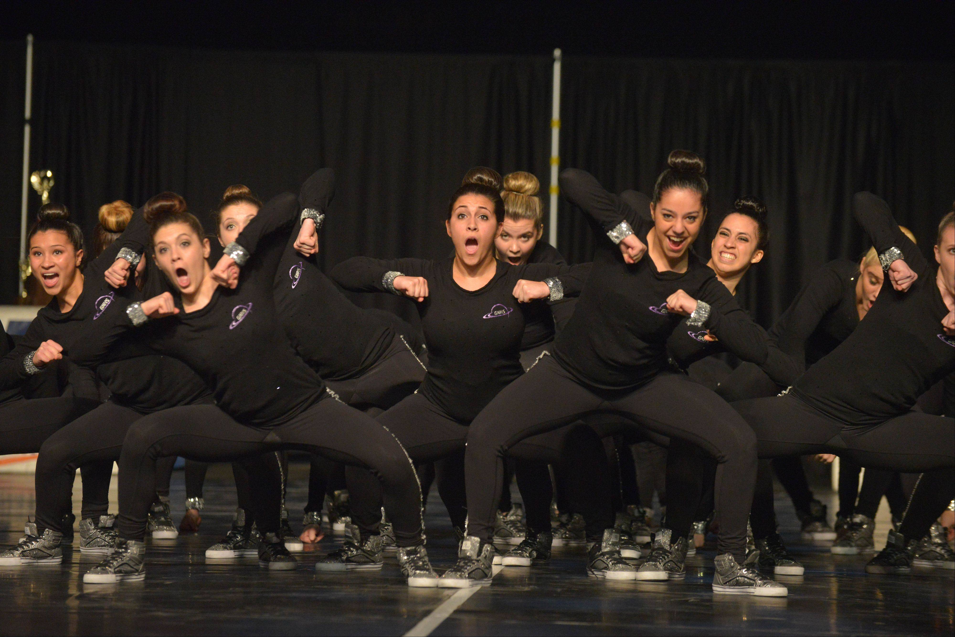 Glenbard North High School took part in the IHSA Dance State Final at U.S. Cellular Coliseum in Bloomington Saturday. 90 teams vied for state champion at this event.