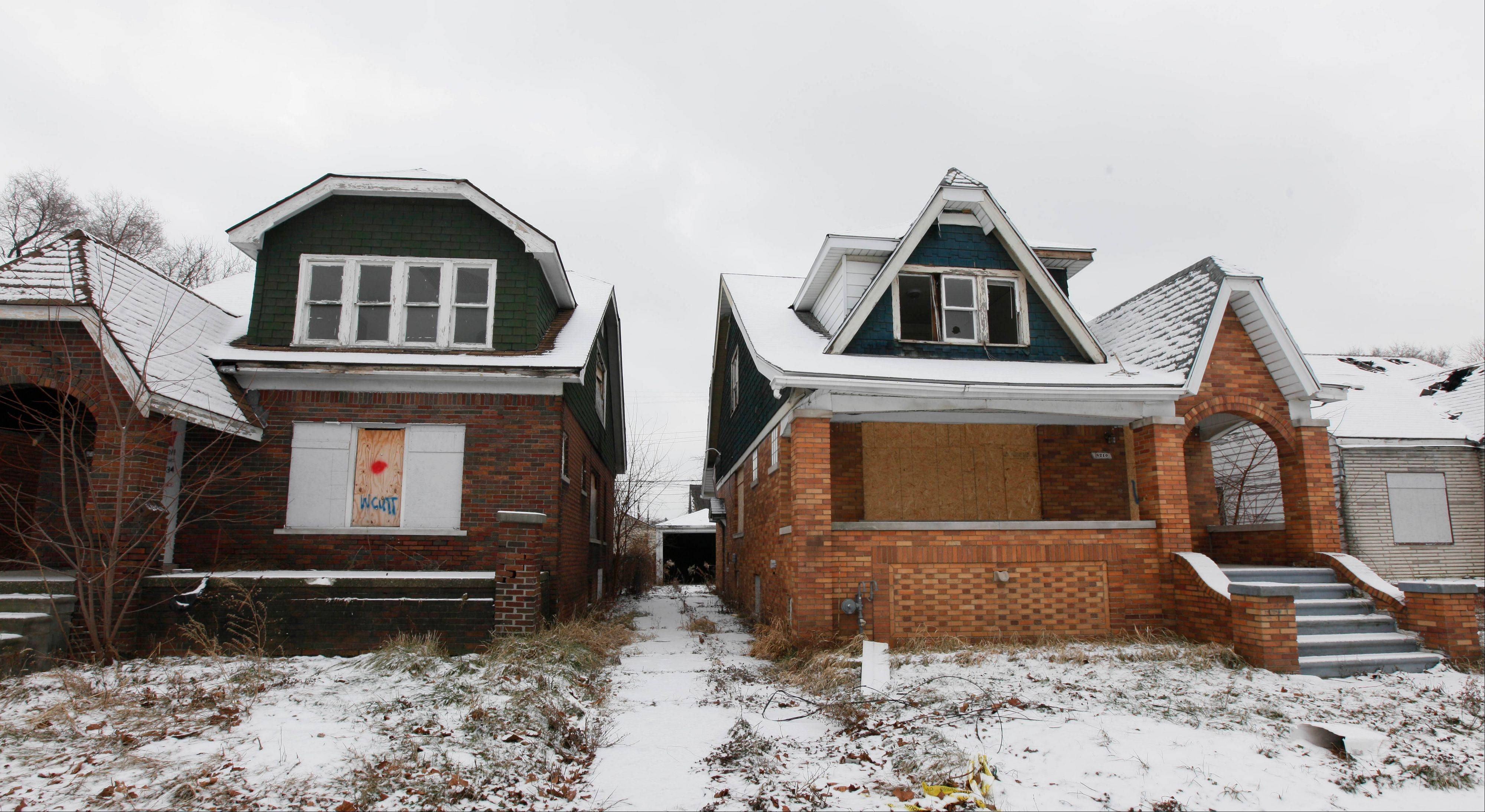 While many of the city�s neighborhoods struggle with blight and crime, Detroit�s downtown and Midtown areas continue to grow.