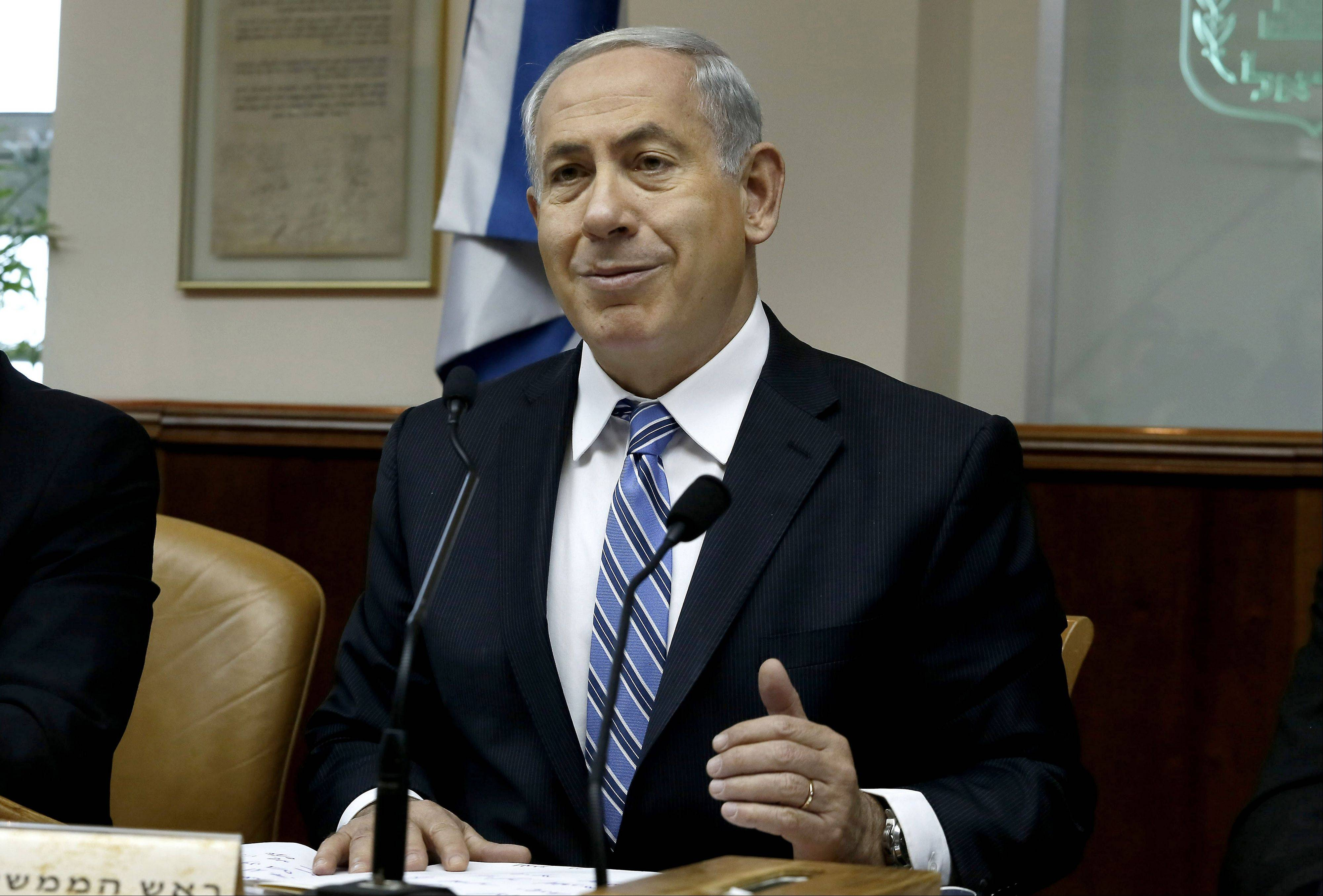 Israeli Prime Minister Benjamin Netanyahu, seen here, and U.S. Secretary of State John Kerry sparred over peacemaking, as a global campaign to sanction the Jewish state for its settlements gains momentum.