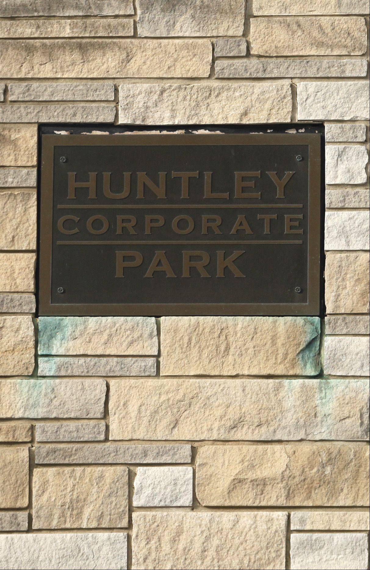 The Huntley Corporate Park entrance is at the intersection of Route 47 and Jim Dahmer Drive. The village is poised for a major marketing campaign to promote the industrial park, which fronts I-90.
