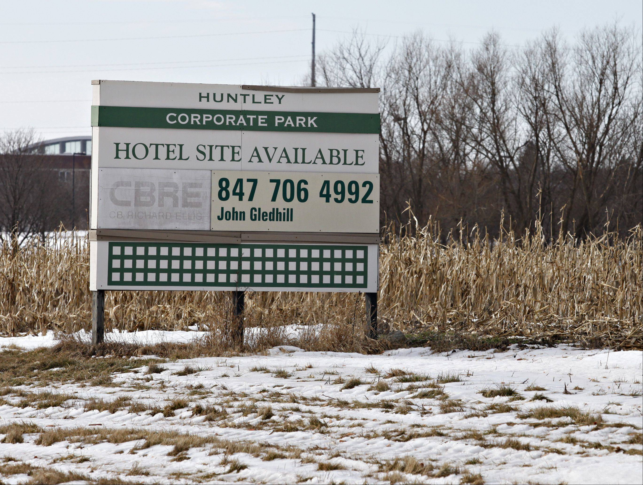 Huntley's business climate is expected to improve now that the new interchange at I-90 and Route 47 is open, possibly filling some of the sites available at the Huntley Corporate Park.