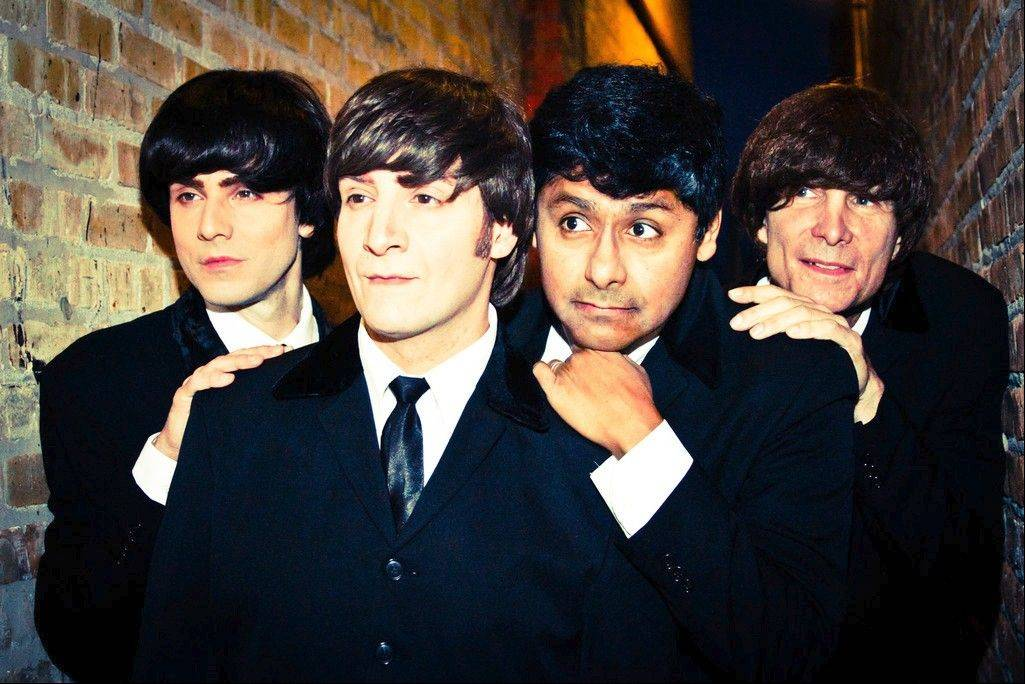 The Beatles tribute band The Cavern Beat, pictured, performs on Sunday, Feb. 2, at The Vernon Area Public Library District in Lincolnshire.