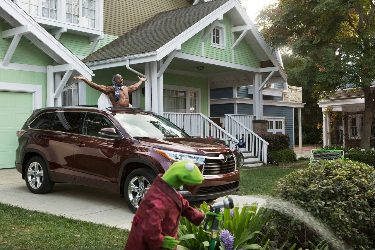 This undated frame grab provided by Toyota, shows the company's 2014 Super Bowl commercial. Toyota has enlisted the Muppets for this year's advertising campaign.