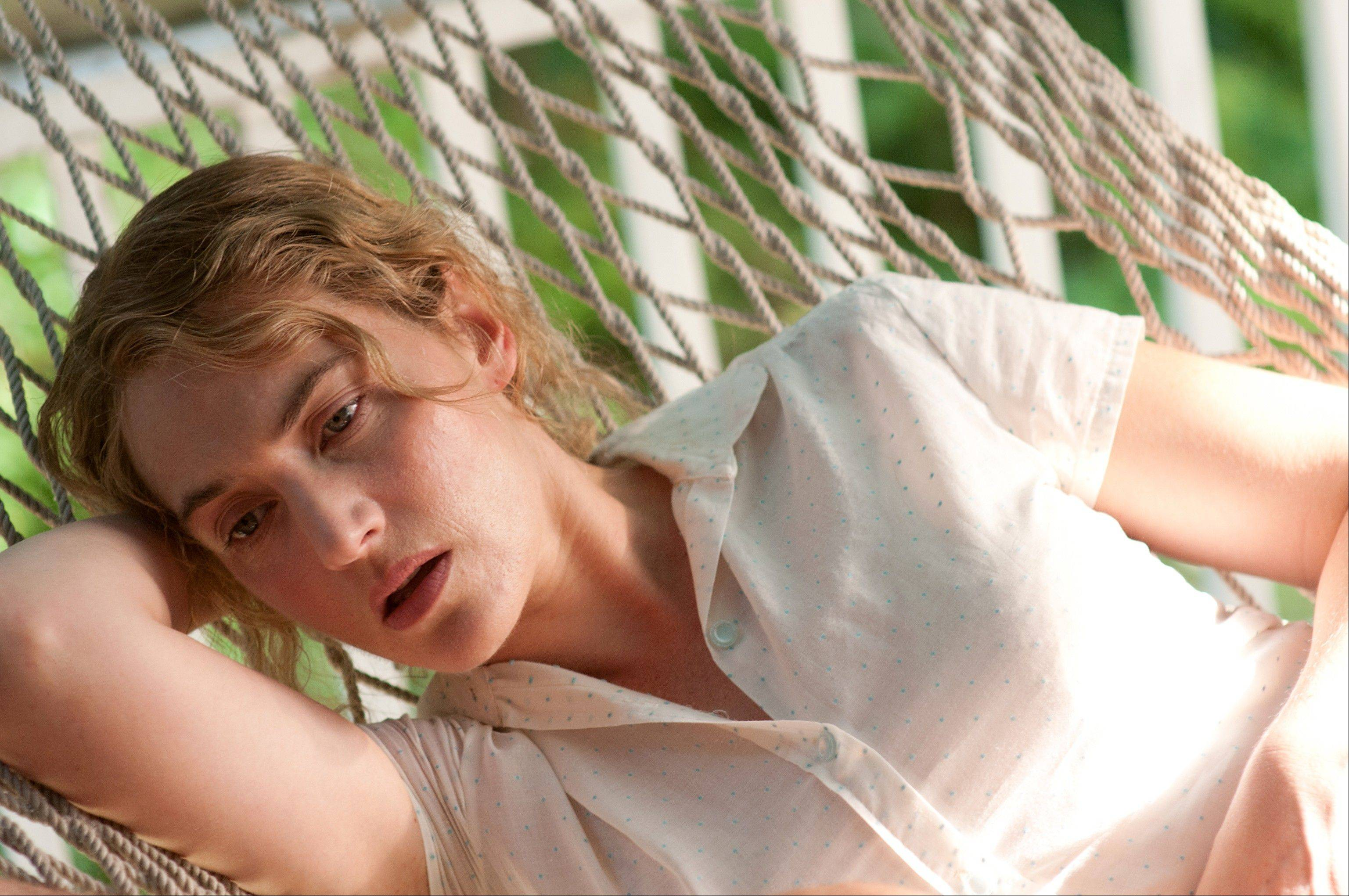 "Kate Winslet stars in ""Labor Day,"" a tale of a mother and son upended when a convict appears in their lives."
