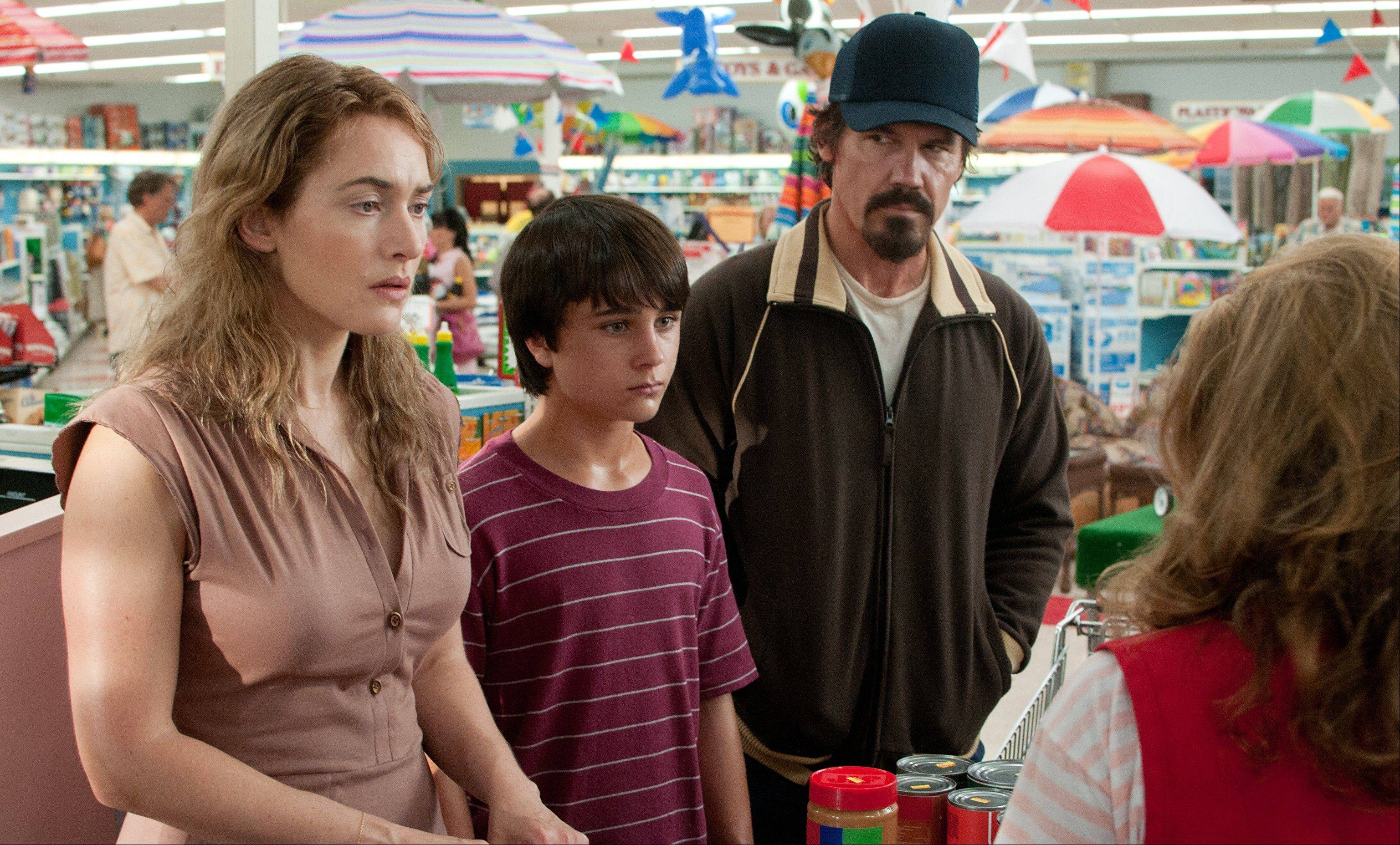 "Kate Winslet, Gattlin Griffith and Josh Brolin star in ""Labor Day."""