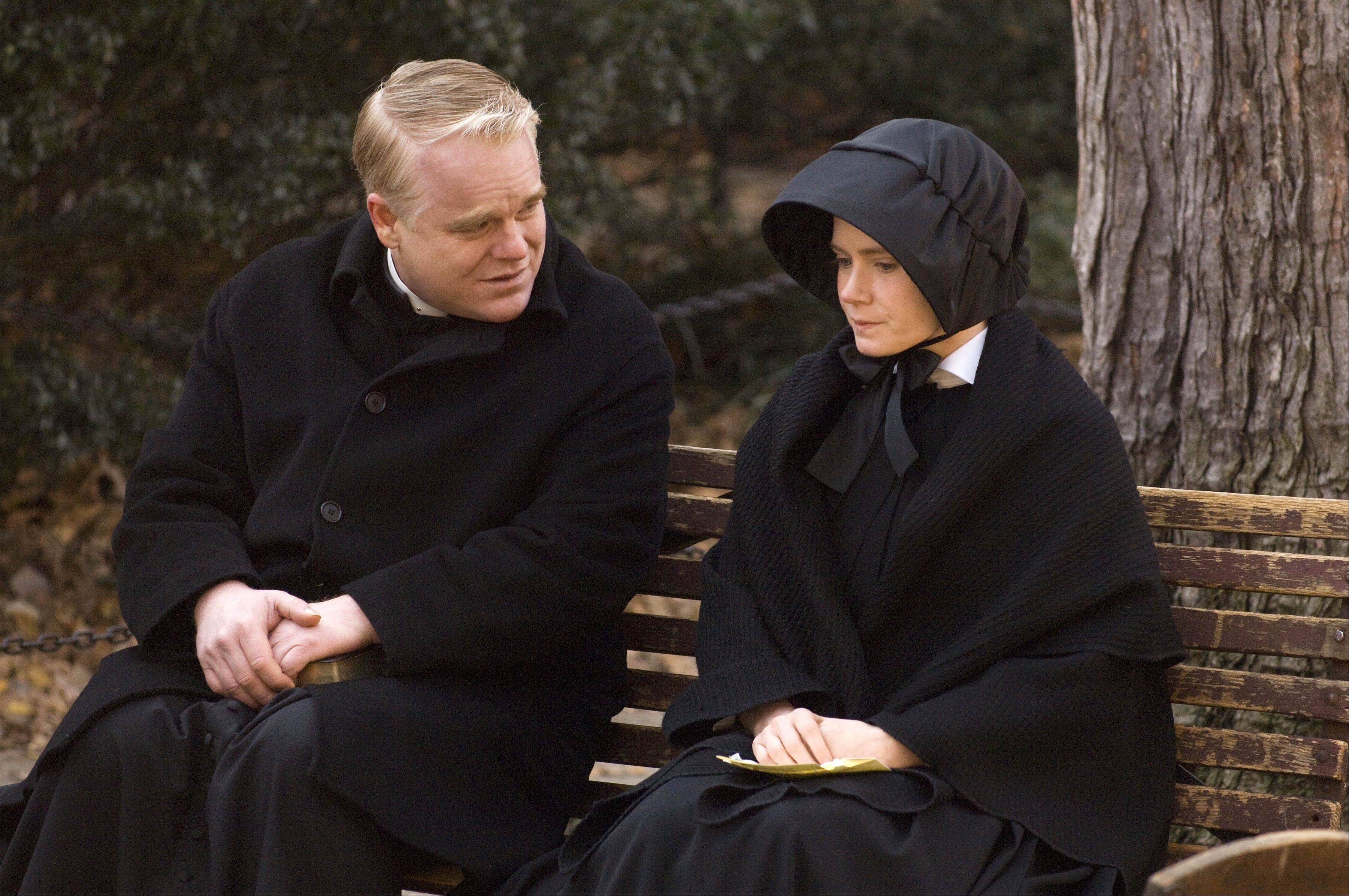 "Philip Seymour Hoffman and Amy Adams star in 2008's ""Doubt."""